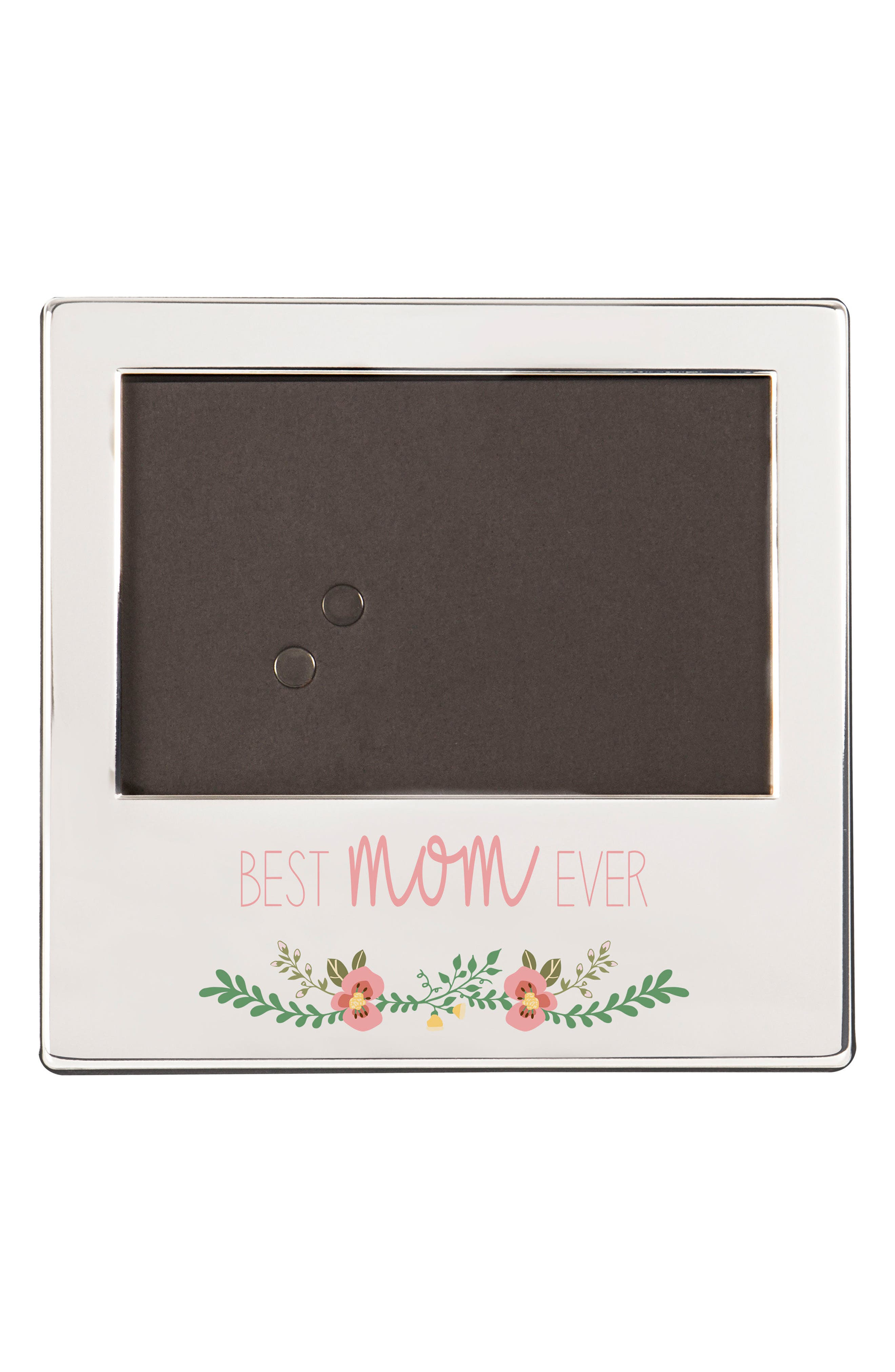 Mother's Day Silver Picture Frame,                             Main thumbnail 1, color,                             040