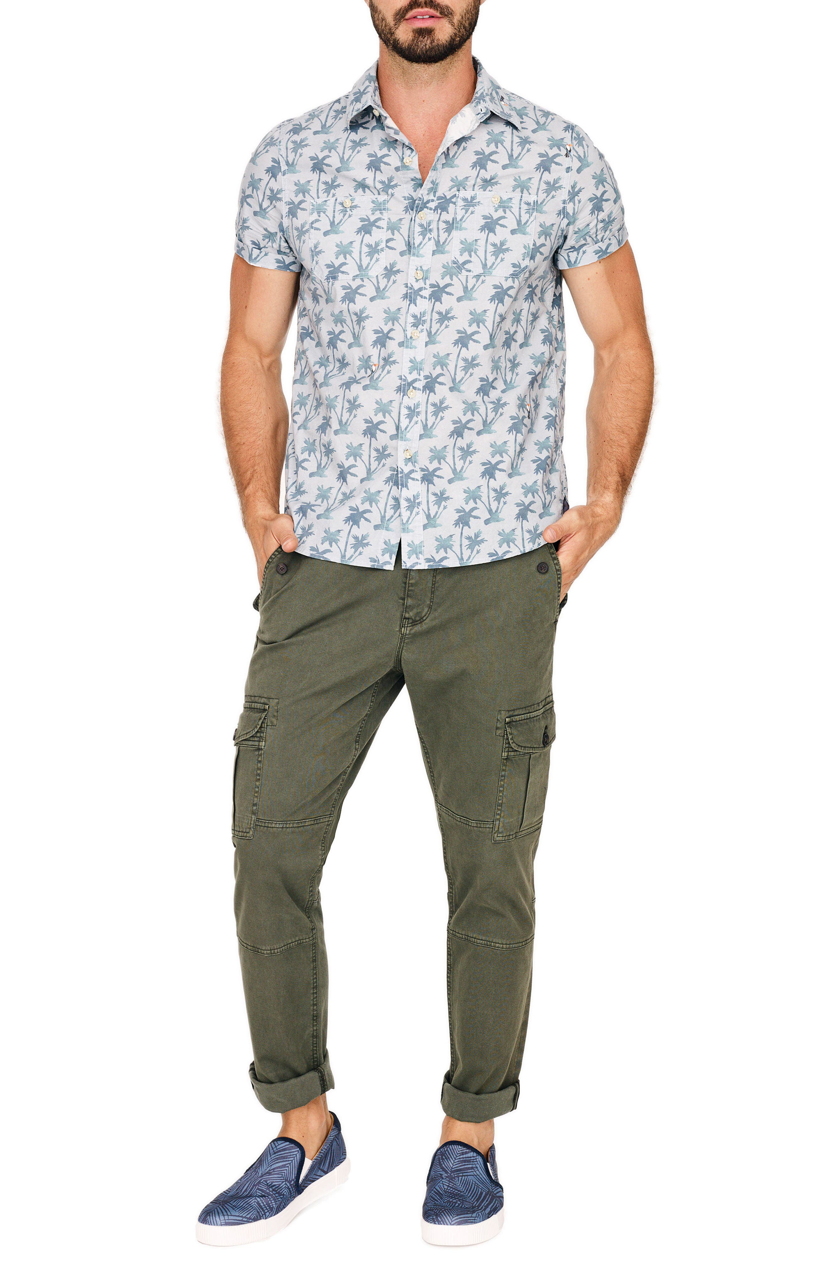 Stretch Twill Cargo Pants,                             Alternate thumbnail 20, color,