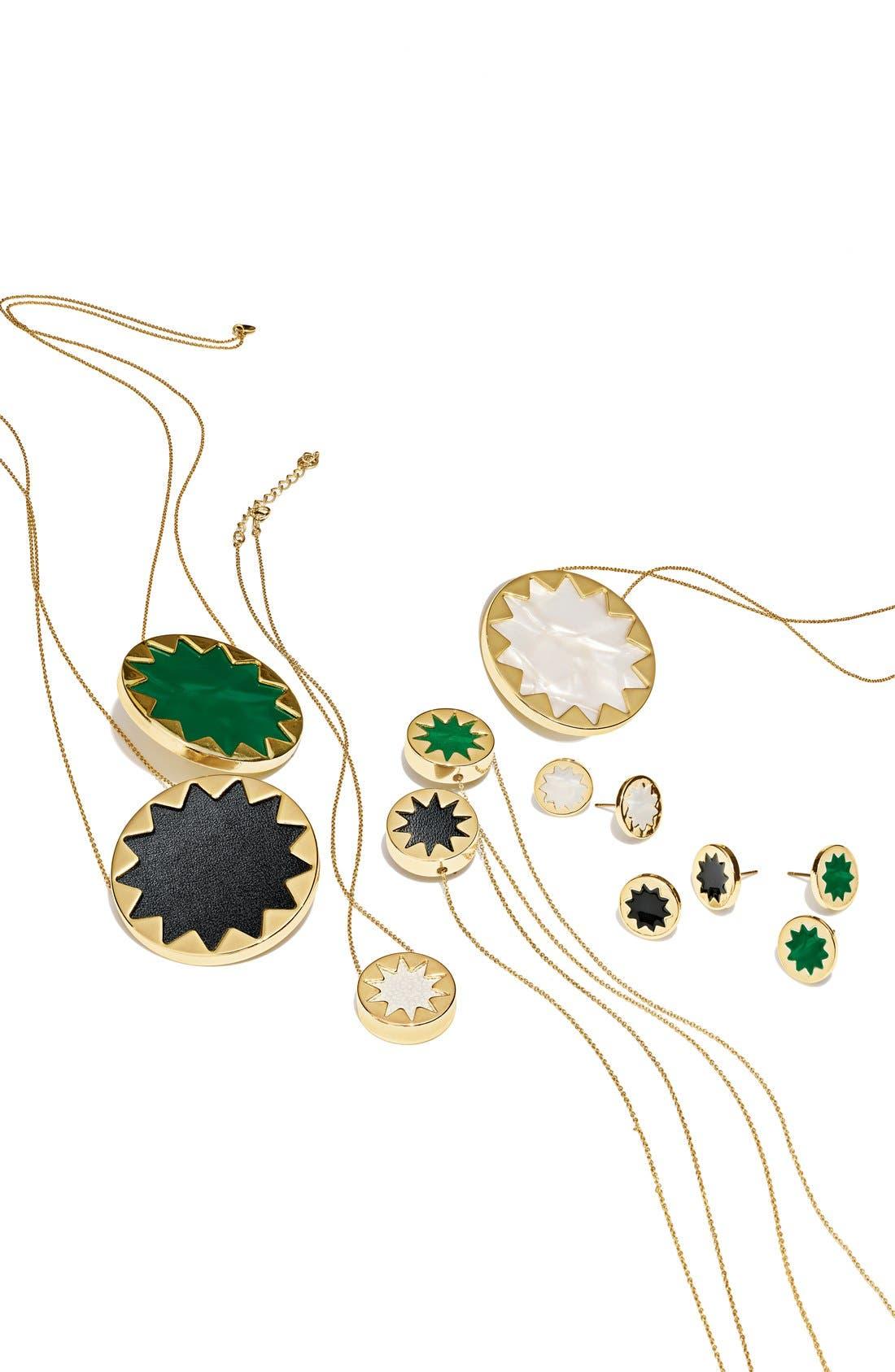 Sunburst Pendant Necklace,                         Main,                         color, 900