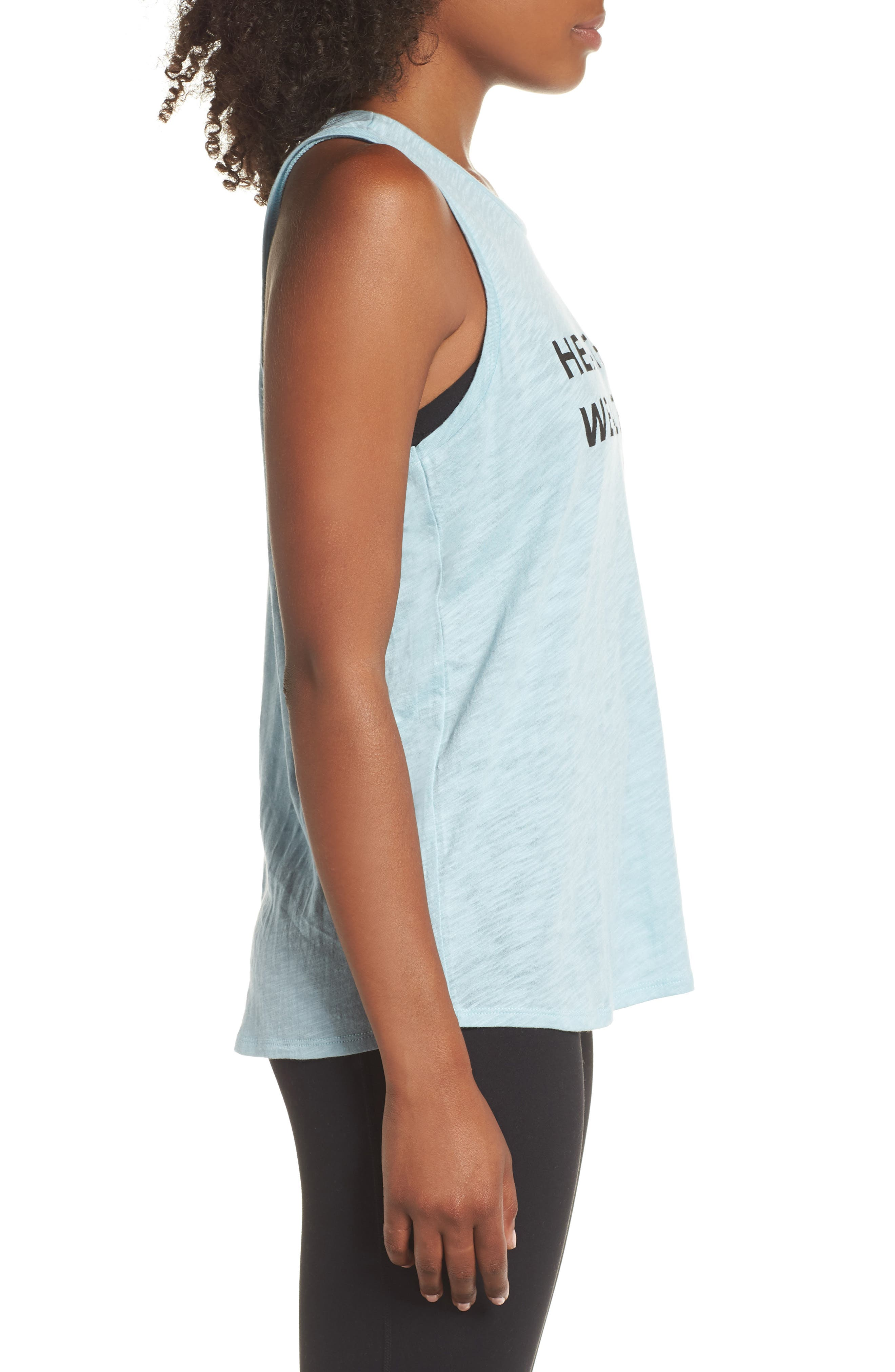 Graphic Tank,                             Alternate thumbnail 3, color,                             BLUE STERLING