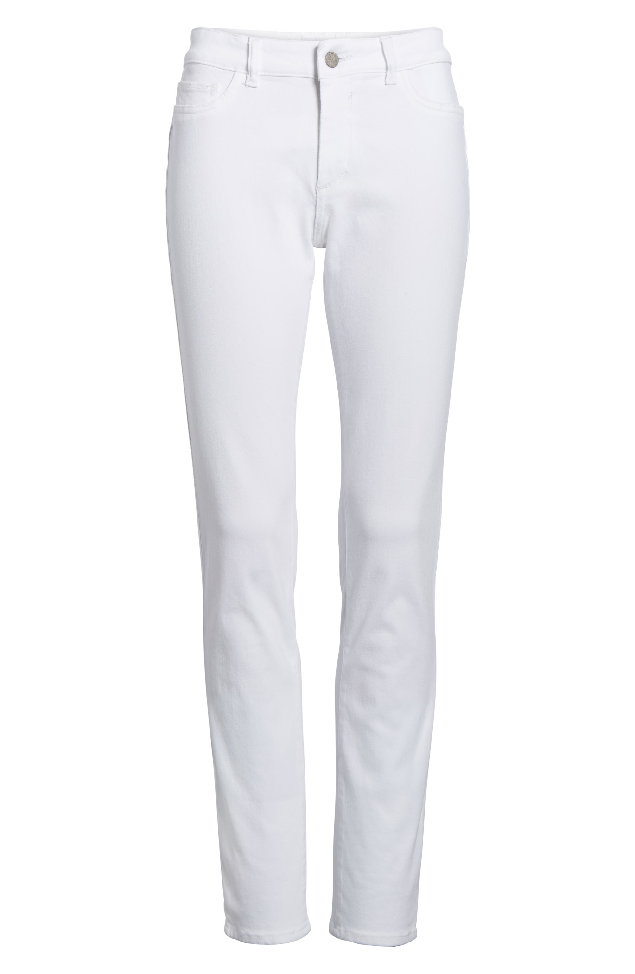 Florence Skinny Jeans,                             Alternate thumbnail 7, color,                             100