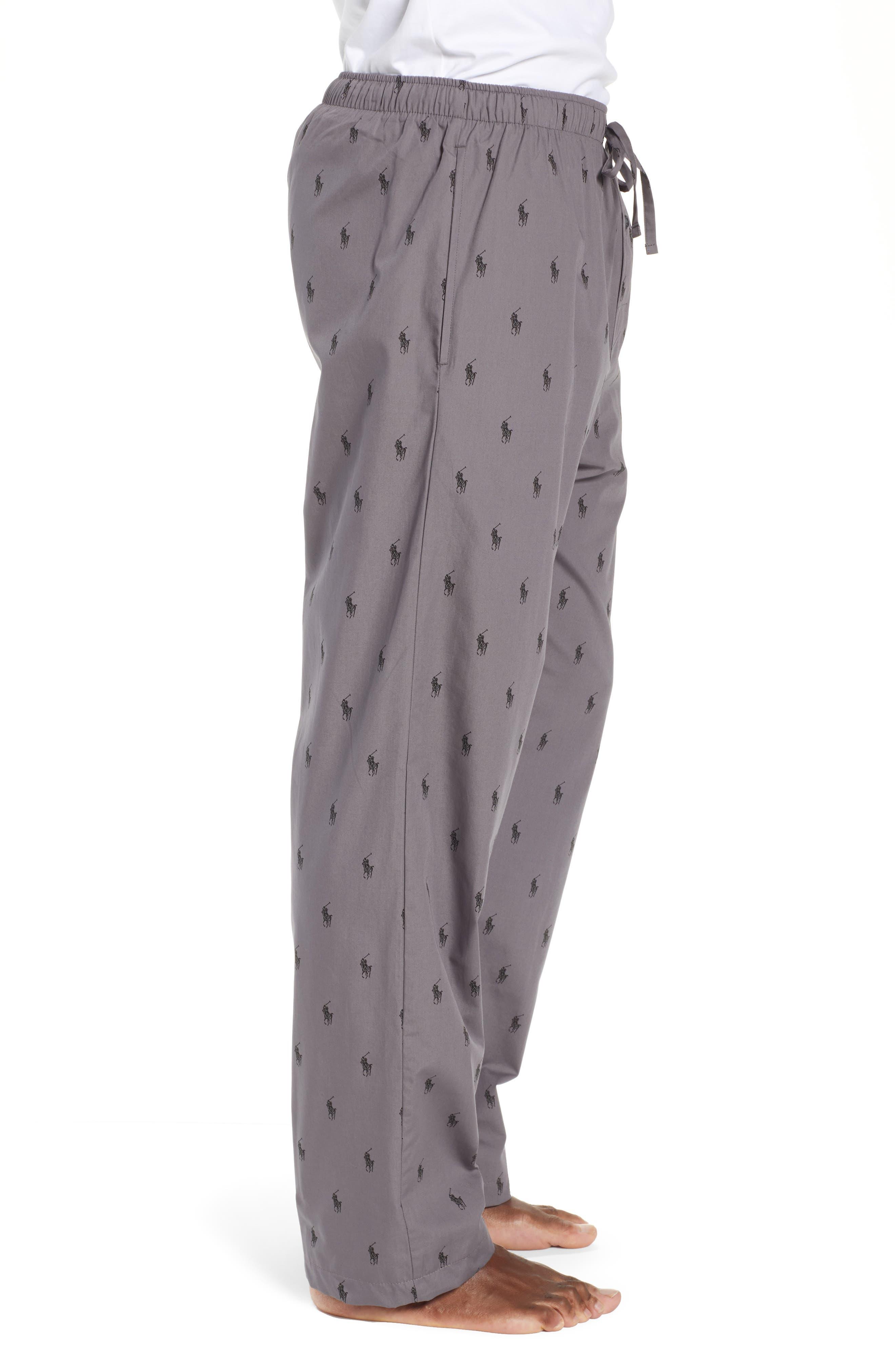 RALPH LAUREN,                             Polo Ralph Lauren Woven Pajama Pants,                             Alternate thumbnail 3, color,                             021