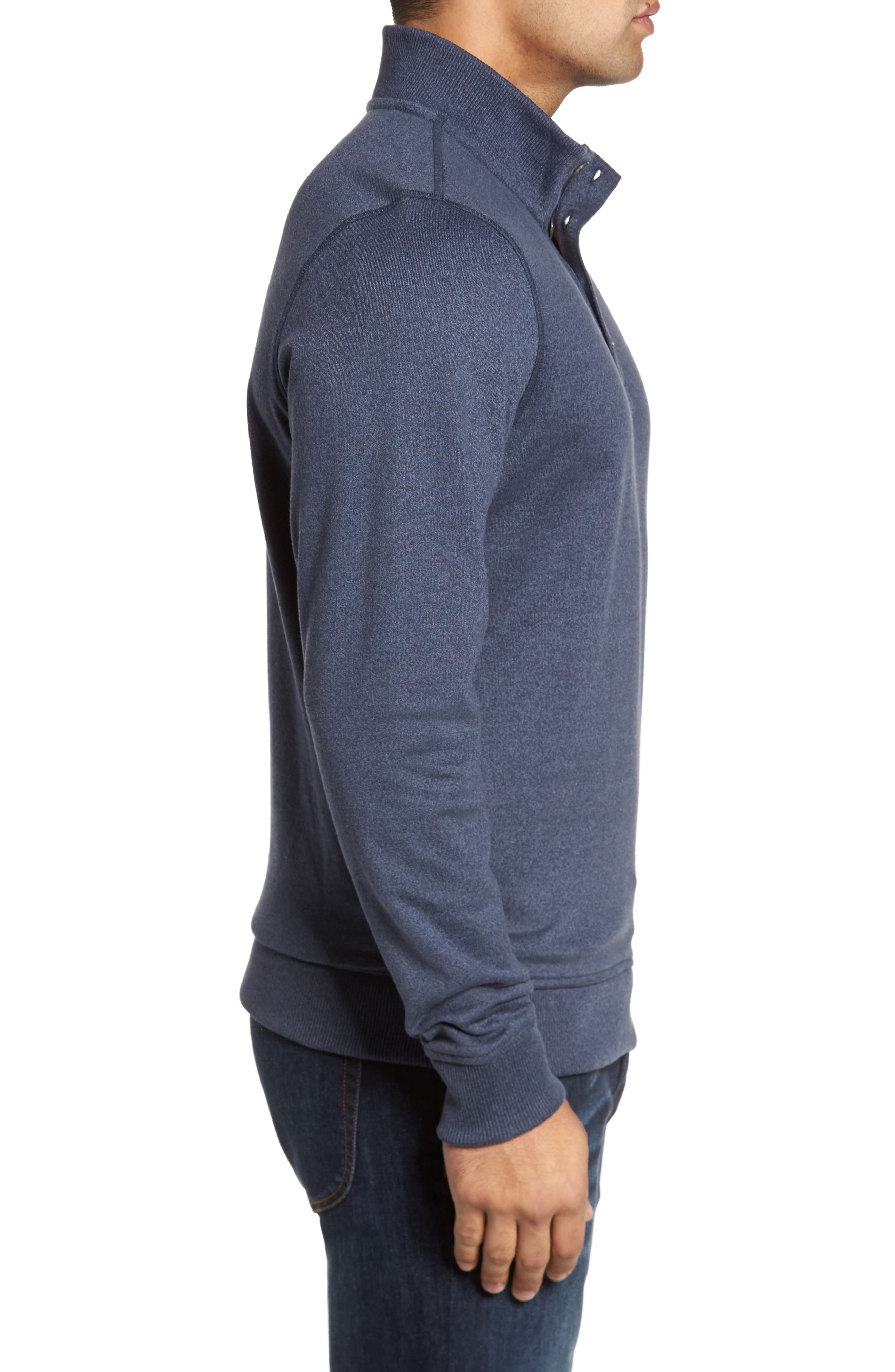 'Wall' Mock Neck Pullover,                             Alternate thumbnail 3, color,                             401