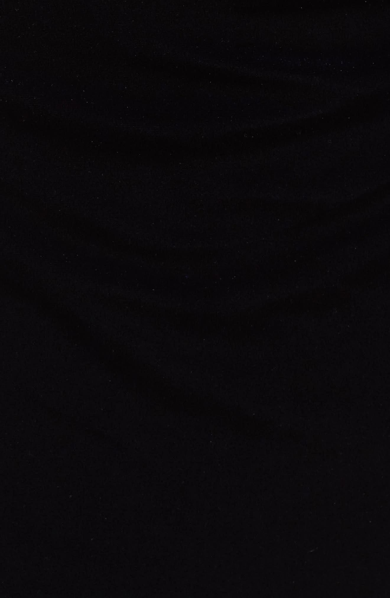 Mesh Panel Embellished Velvet Gown,                             Alternate thumbnail 5, color,                             410