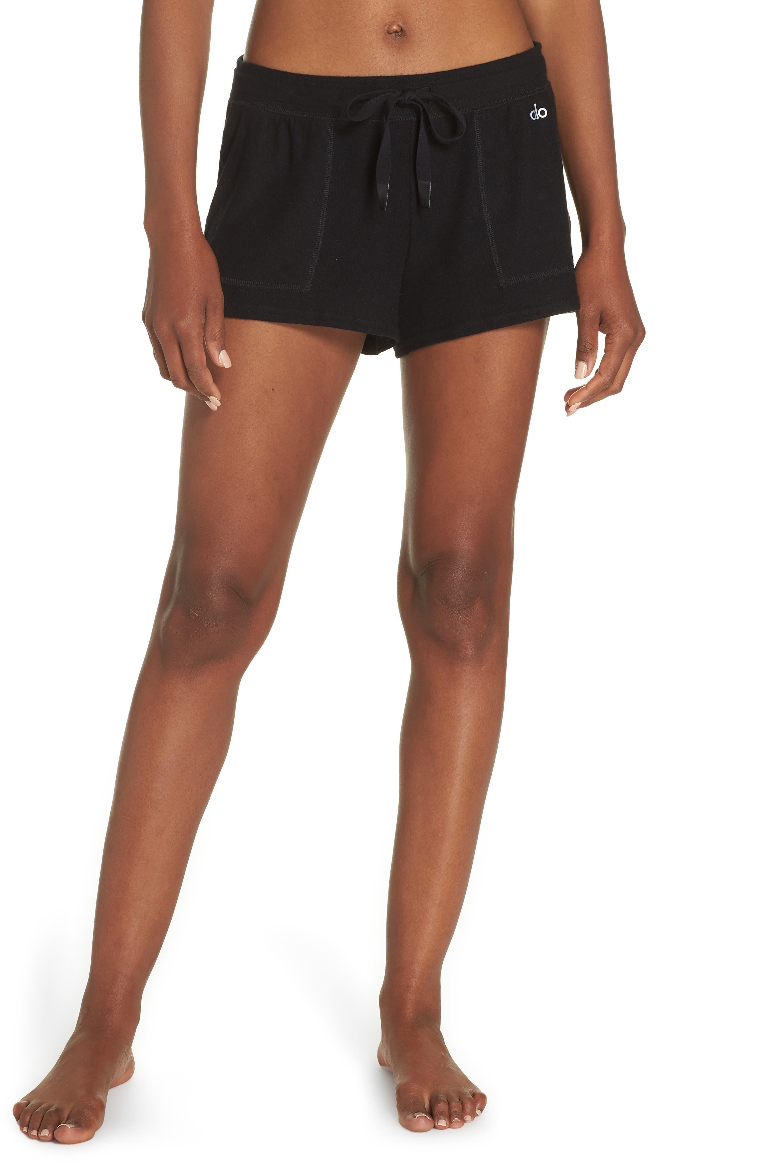 Daze Shorts,                         Main,                         color, BLACK