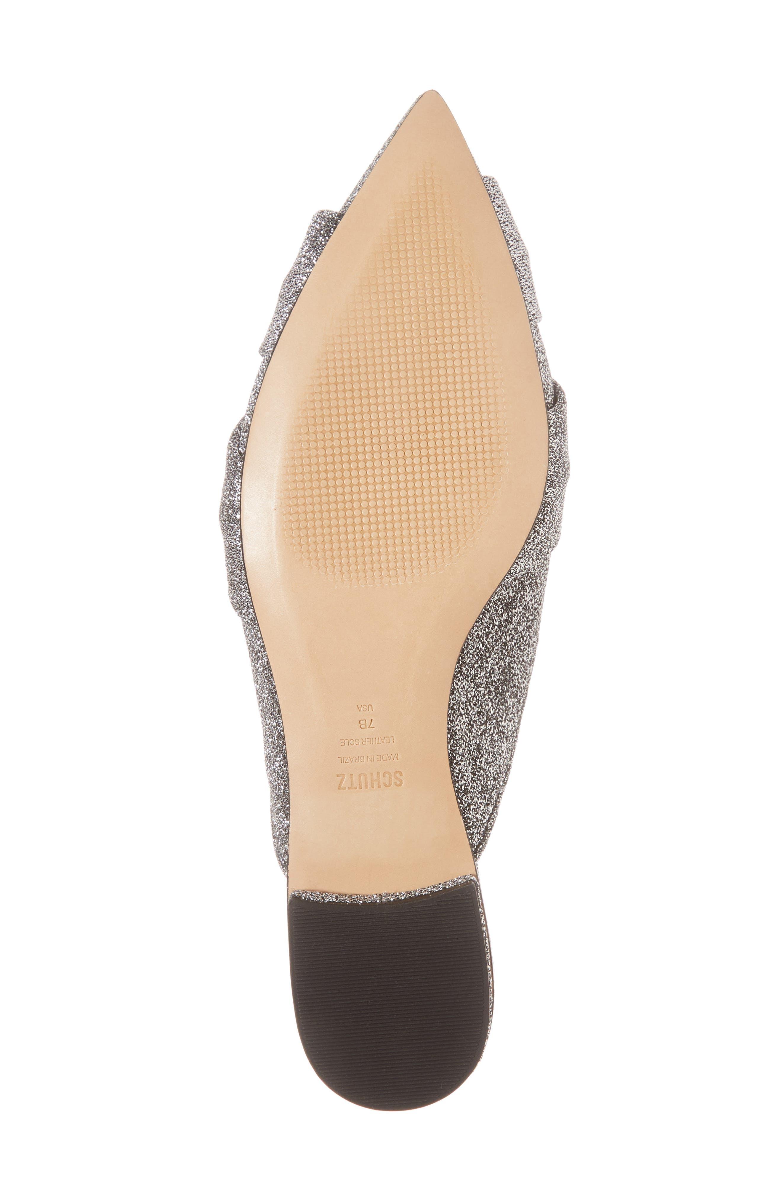Tina Pointy Toe Slide Sandal,                             Alternate thumbnail 6, color,                             040