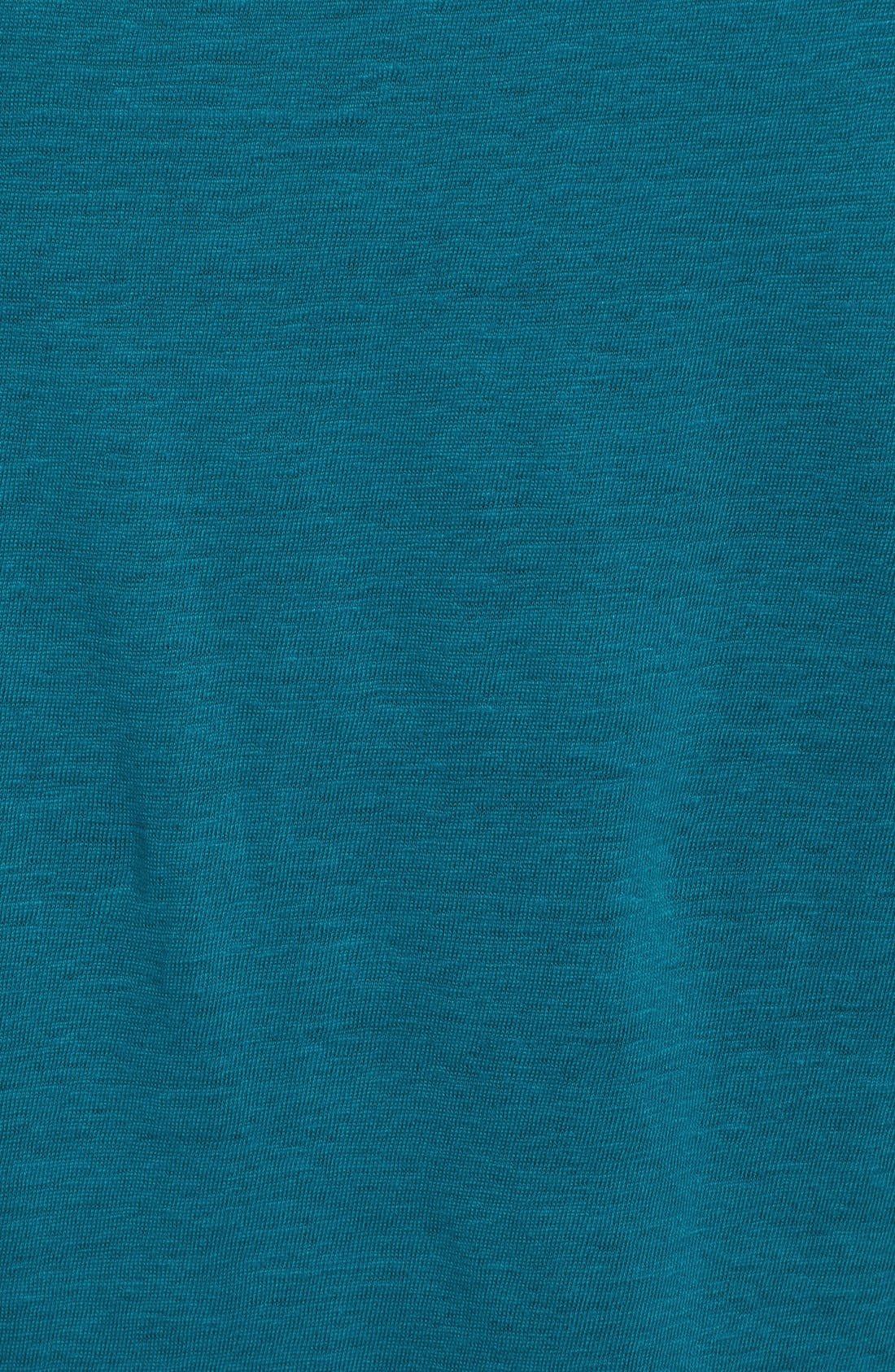 Bateau Neck Organic Linen Tunic,                             Alternate thumbnail 71, color,