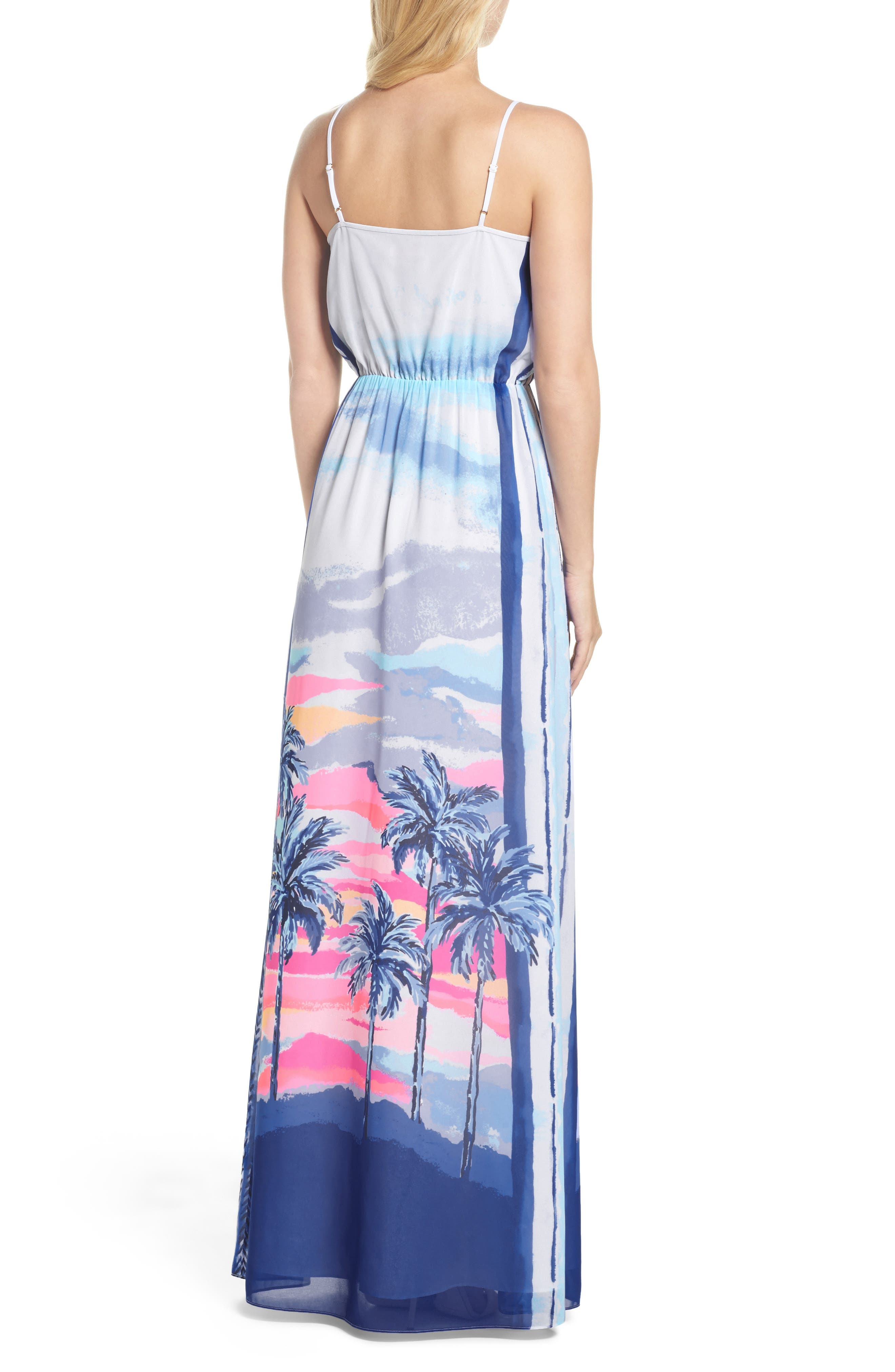 Deanna Maxi Dress,                             Alternate thumbnail 2, color,                             697