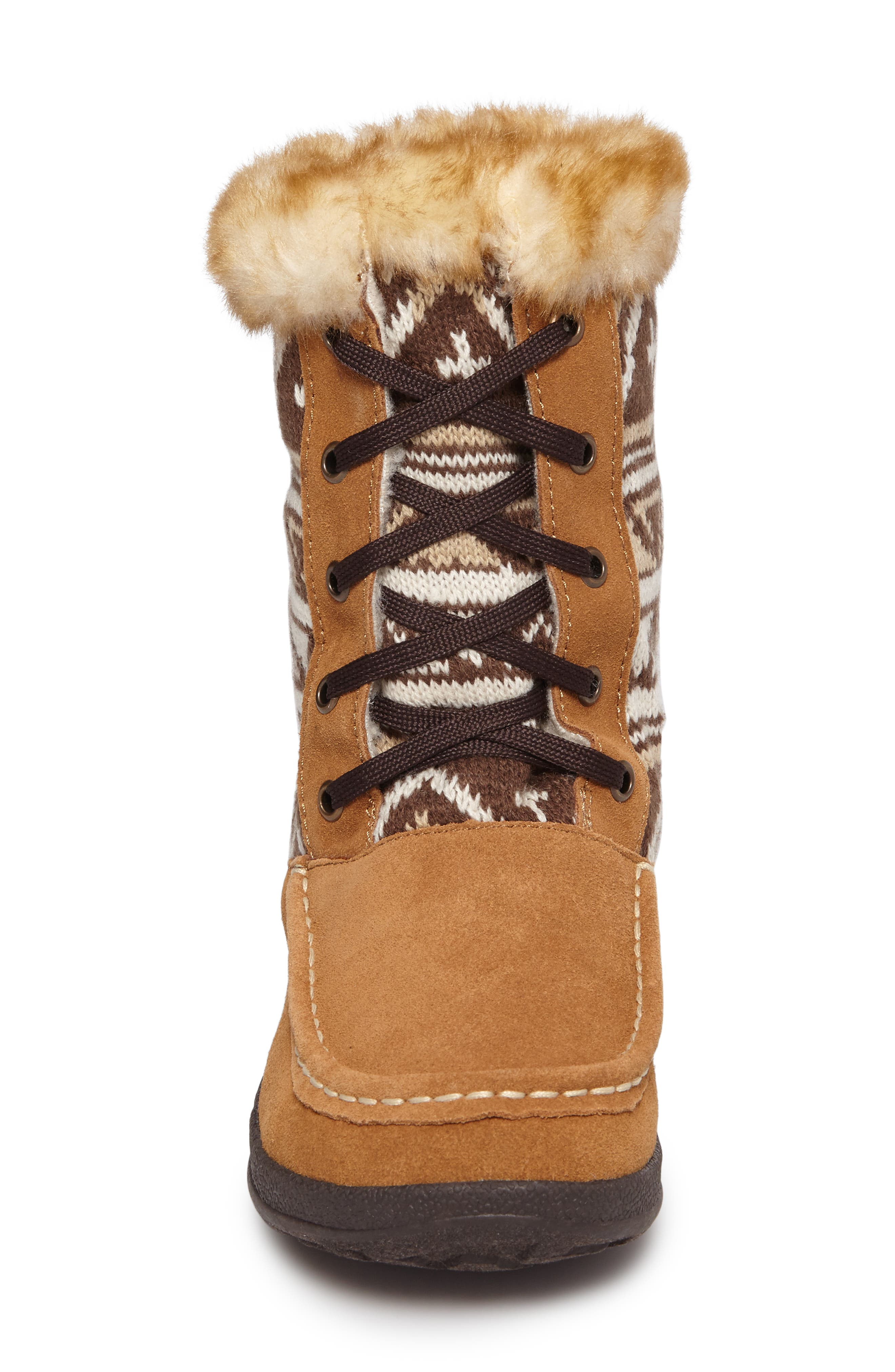Doe Creek II Faux Fur Trim Boot,                             Alternate thumbnail 12, color,