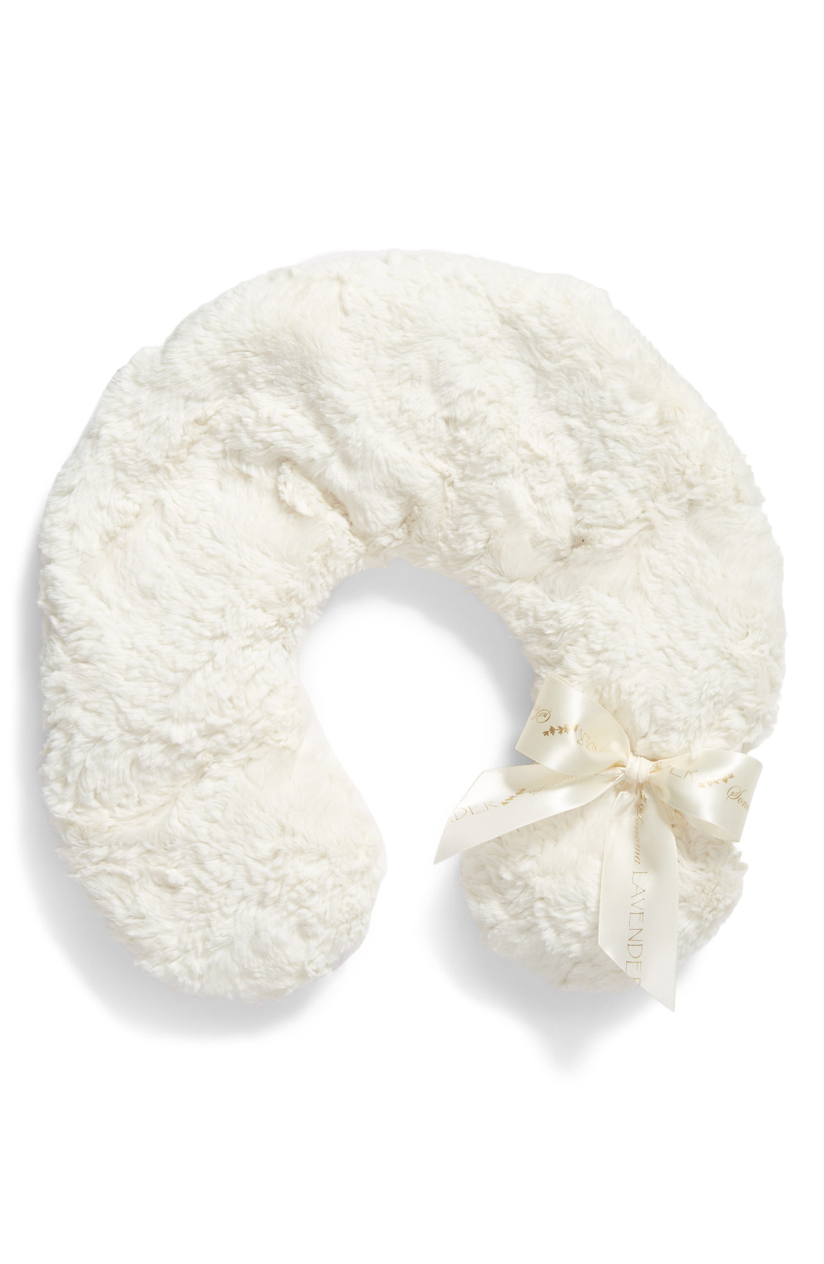 Faux Shearling Neck Pillow,                         Main,                         color,