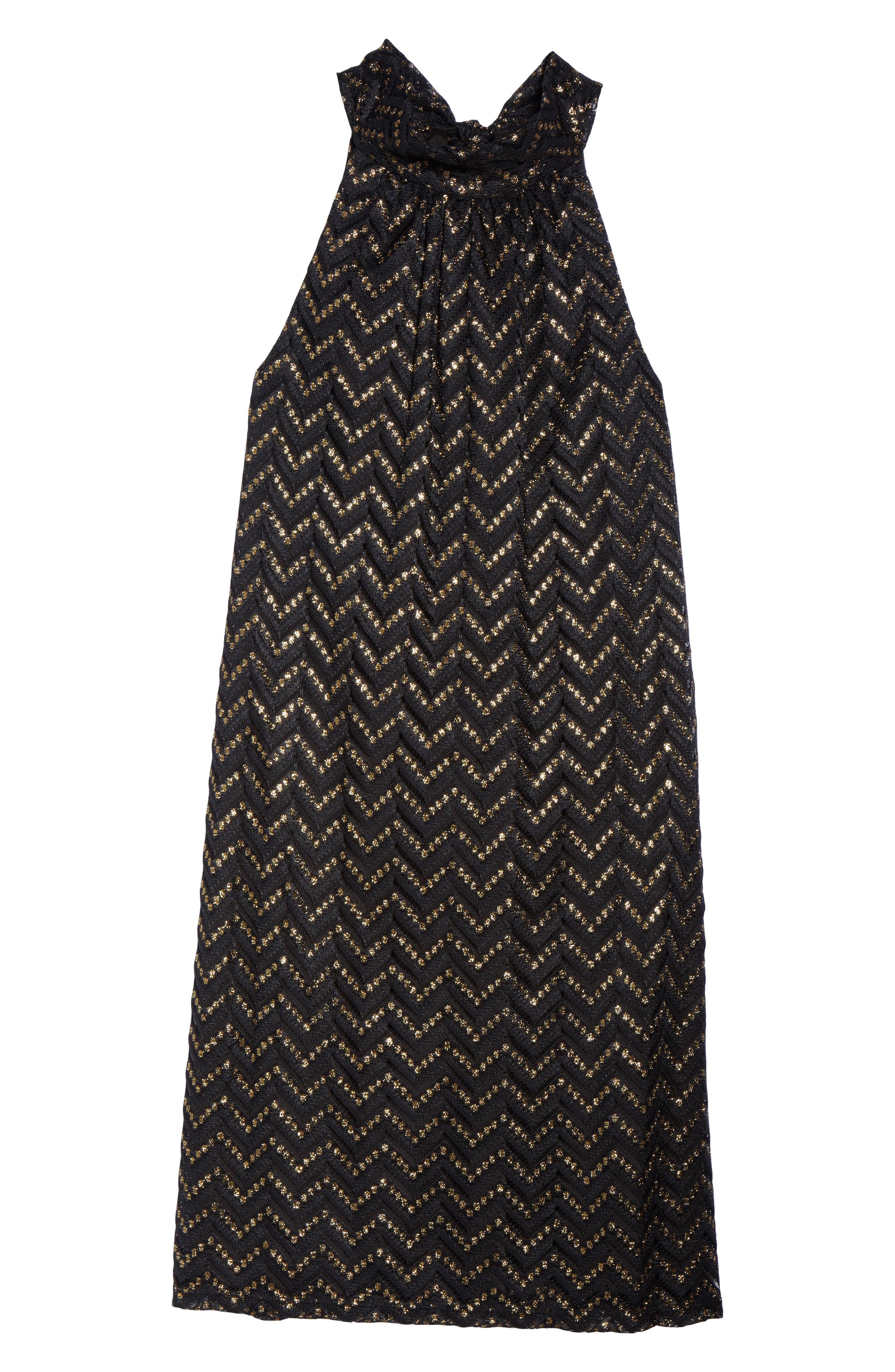 Morrison Metallic Shift Dress,                             Alternate thumbnail 6, color,                             008