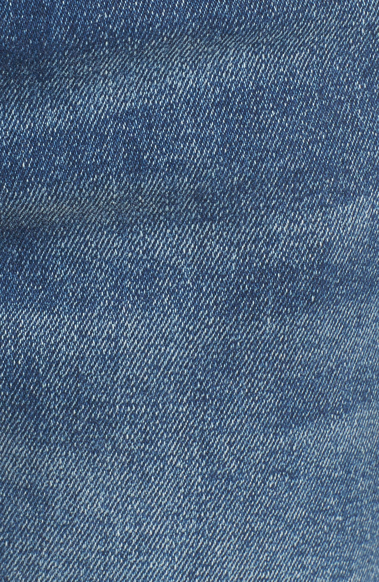 Florence Instasculpt Crop Skinny Jeans,                             Alternate thumbnail 5, color,                             400