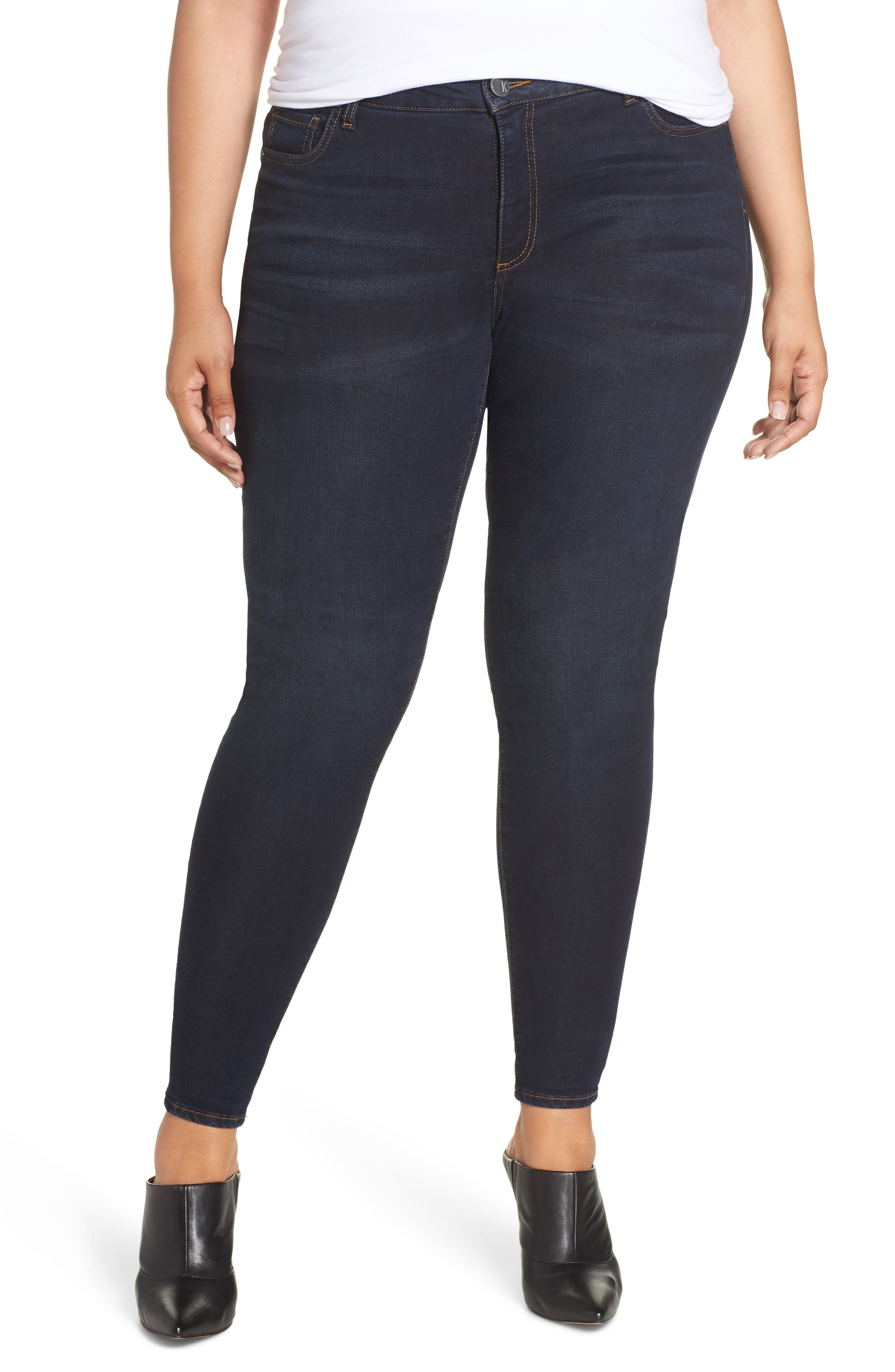 Plus Size Kut From The Kloth Donna Skinny Jeans, Blue
