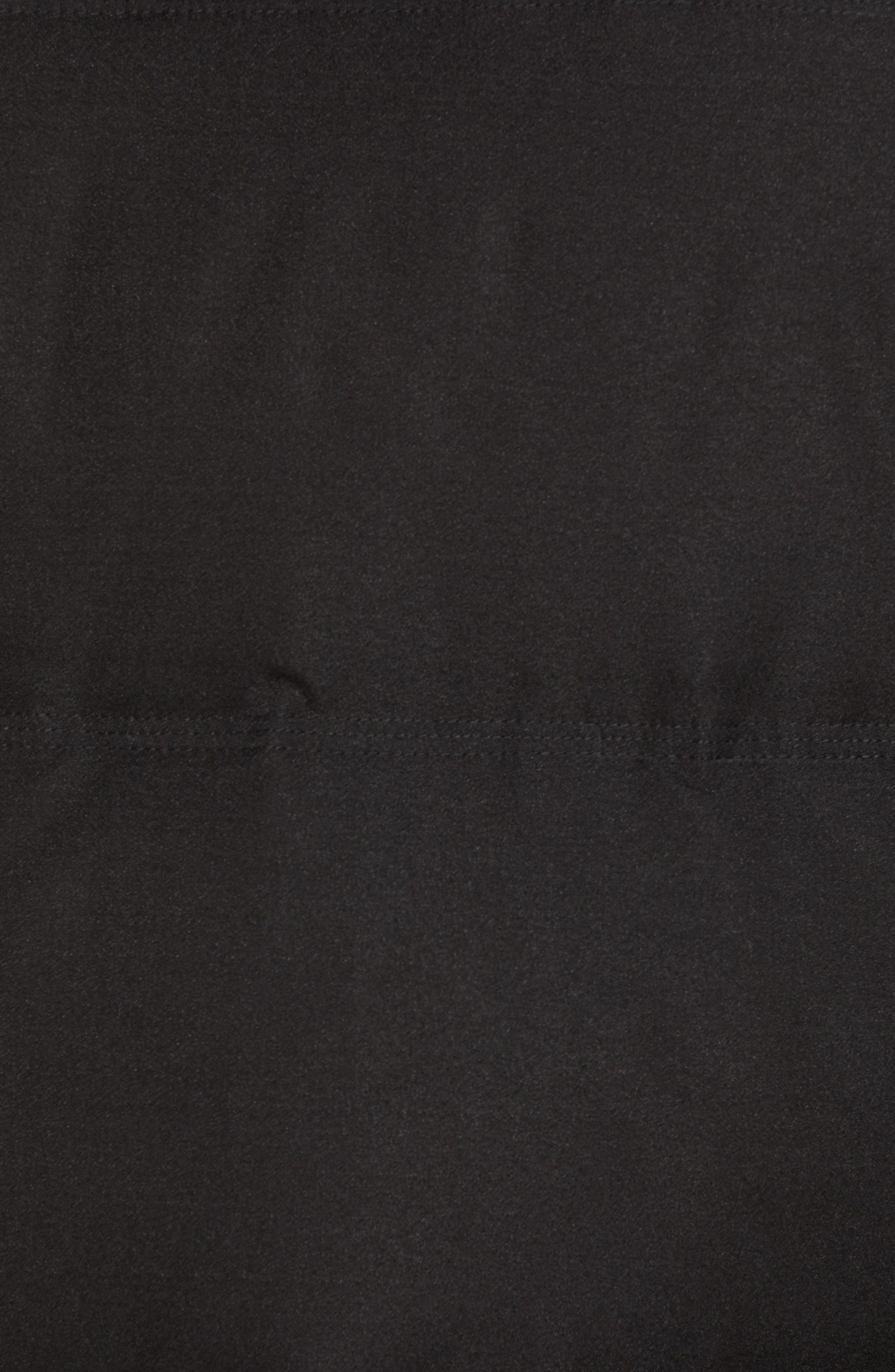 Bryant Genuine Rabbit Fur Trim Down Jacket,                             Alternate thumbnail 7, color,                             BLACK