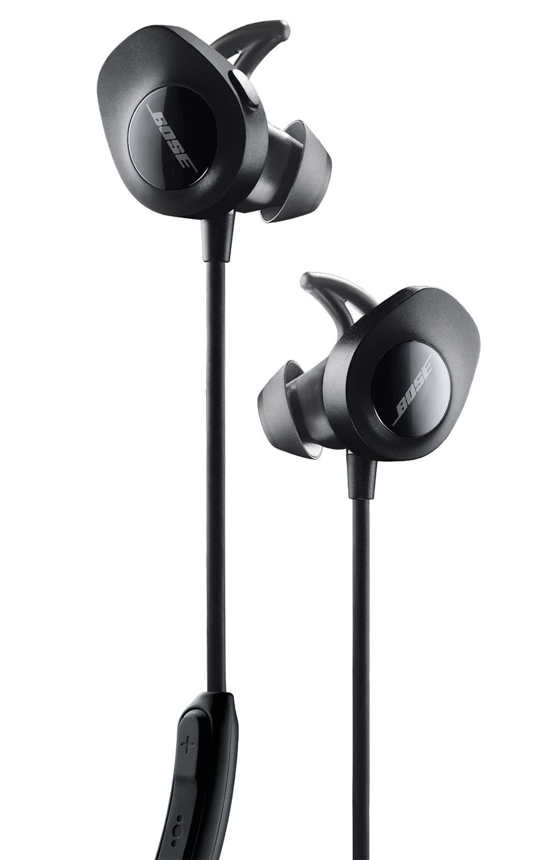 SoundSport<sup>®</sup> Wireless Headphones,                             Alternate thumbnail 7, color,                             BLACK
