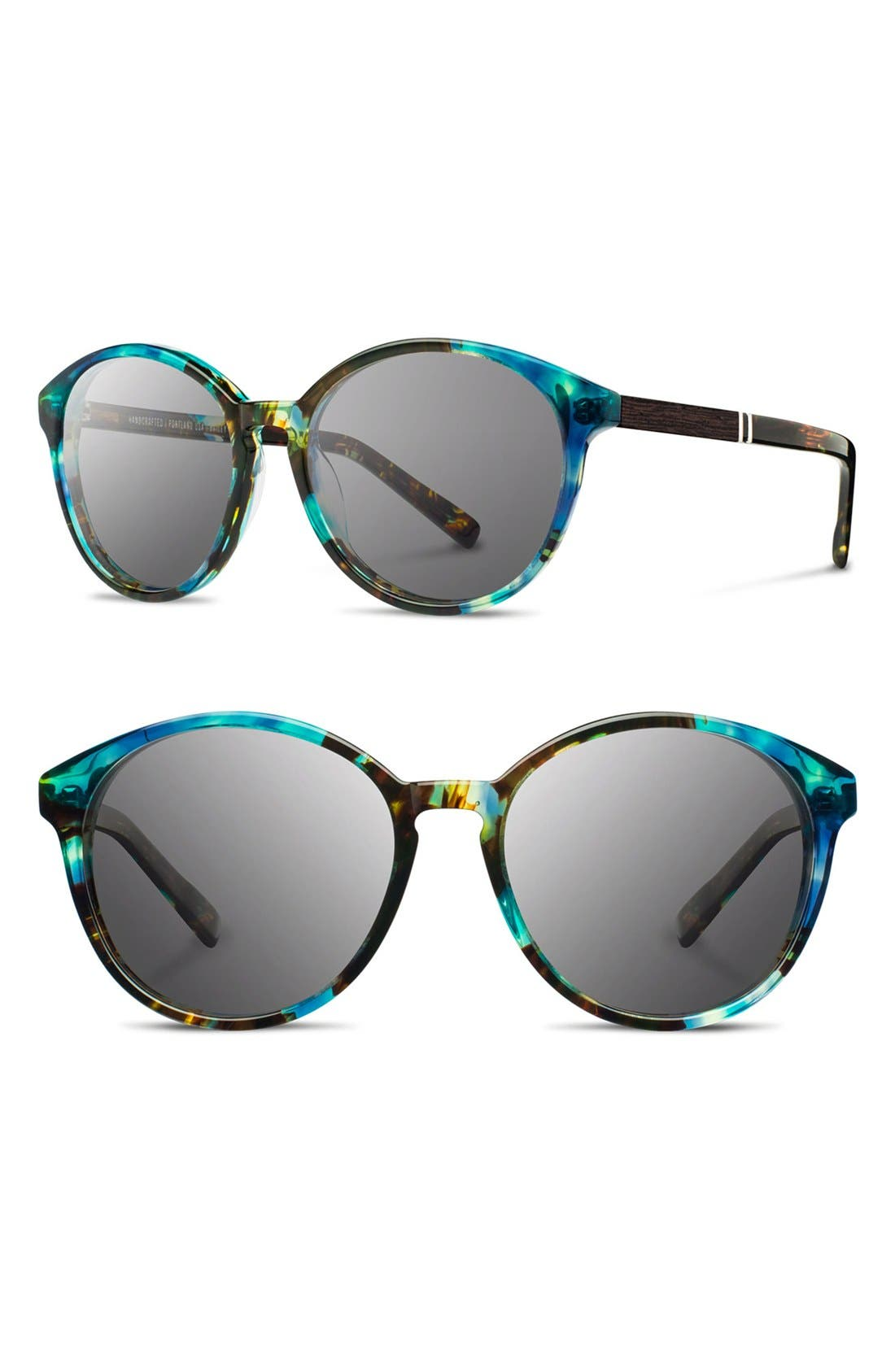 'Bailey' 53mm Round Sunglasses,                             Main thumbnail 6, color,