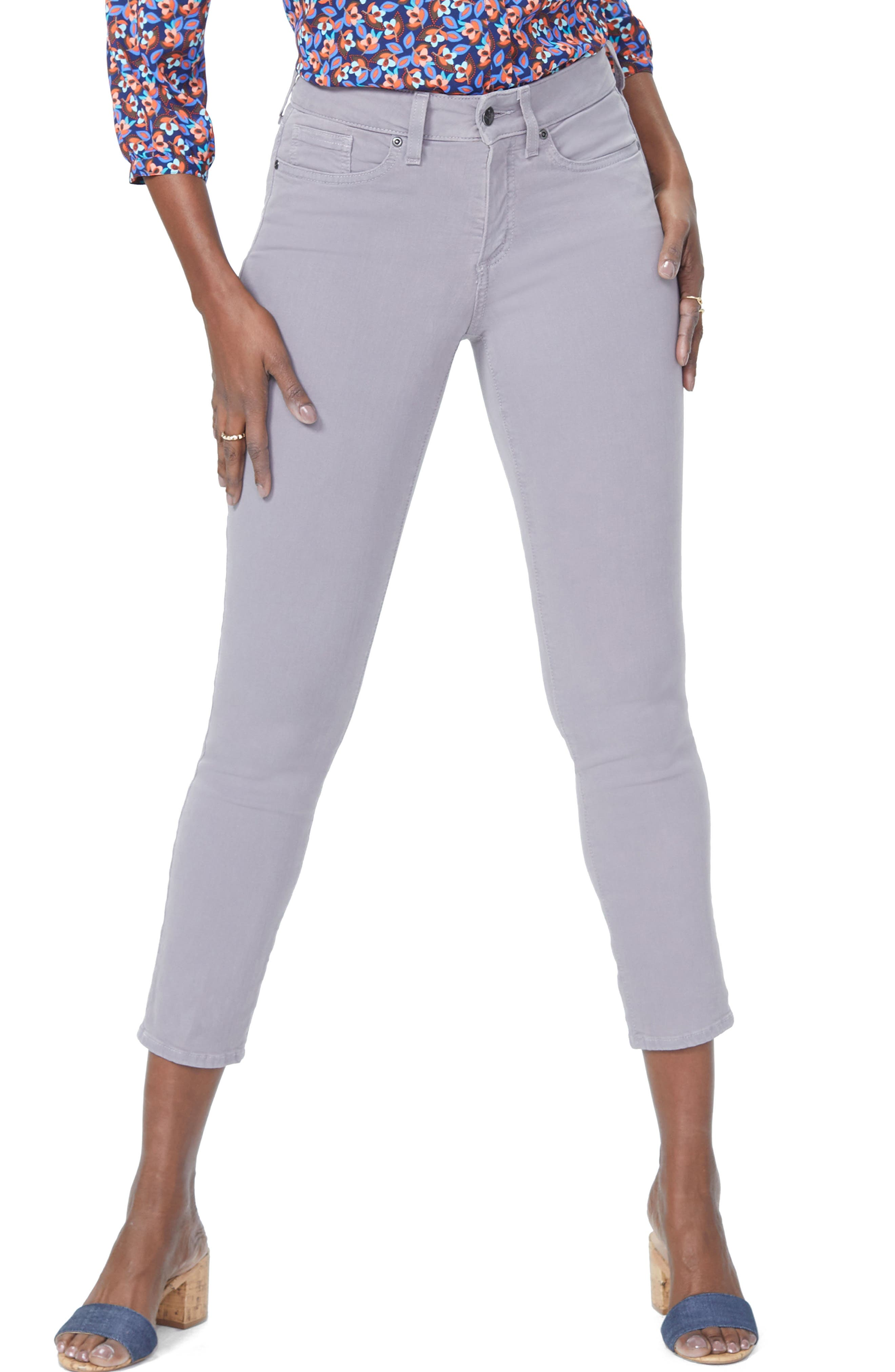 Alina High Waist Ankle Jeans,                             Main thumbnail 1, color,                             022