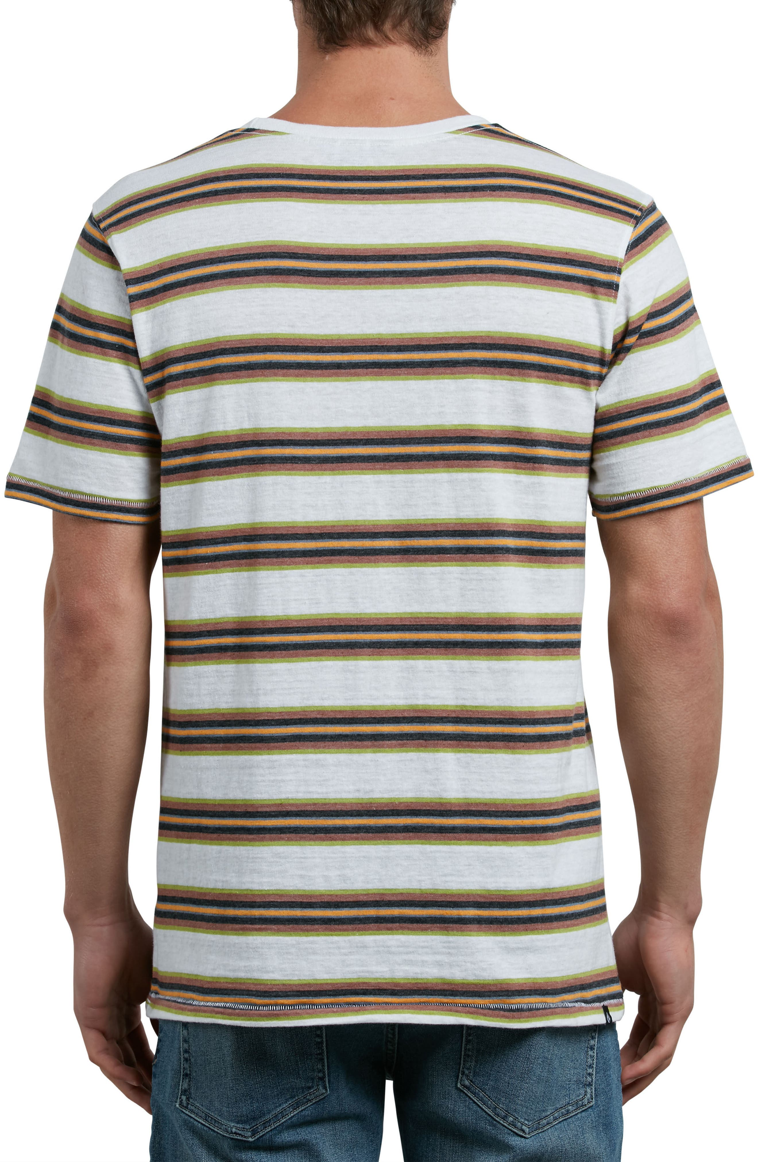 Belfast Stripe Pocket T-Shirt,                             Alternate thumbnail 5, color,