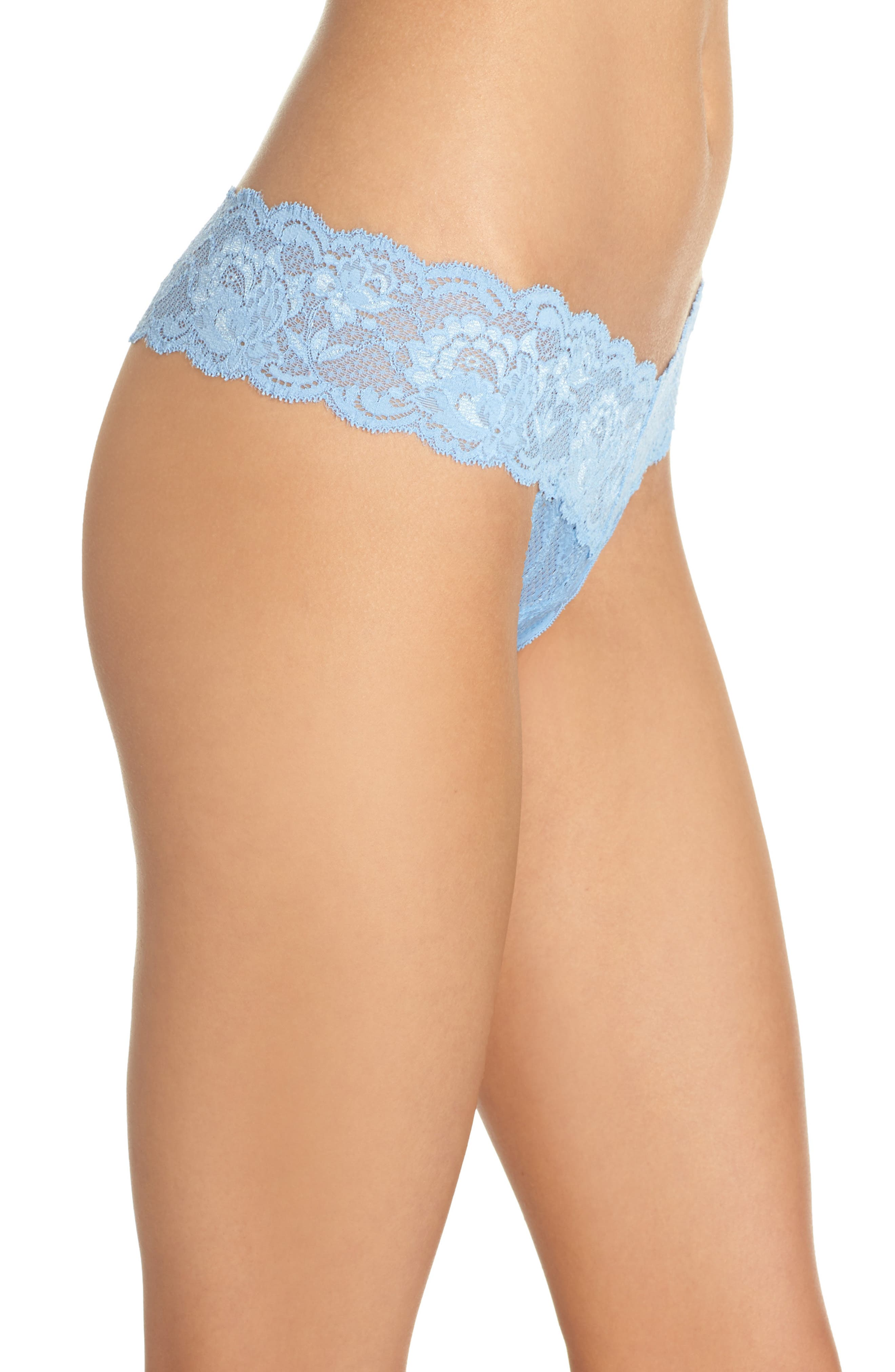 'Never Say Never Cutie' Thong,                             Alternate thumbnail 258, color,