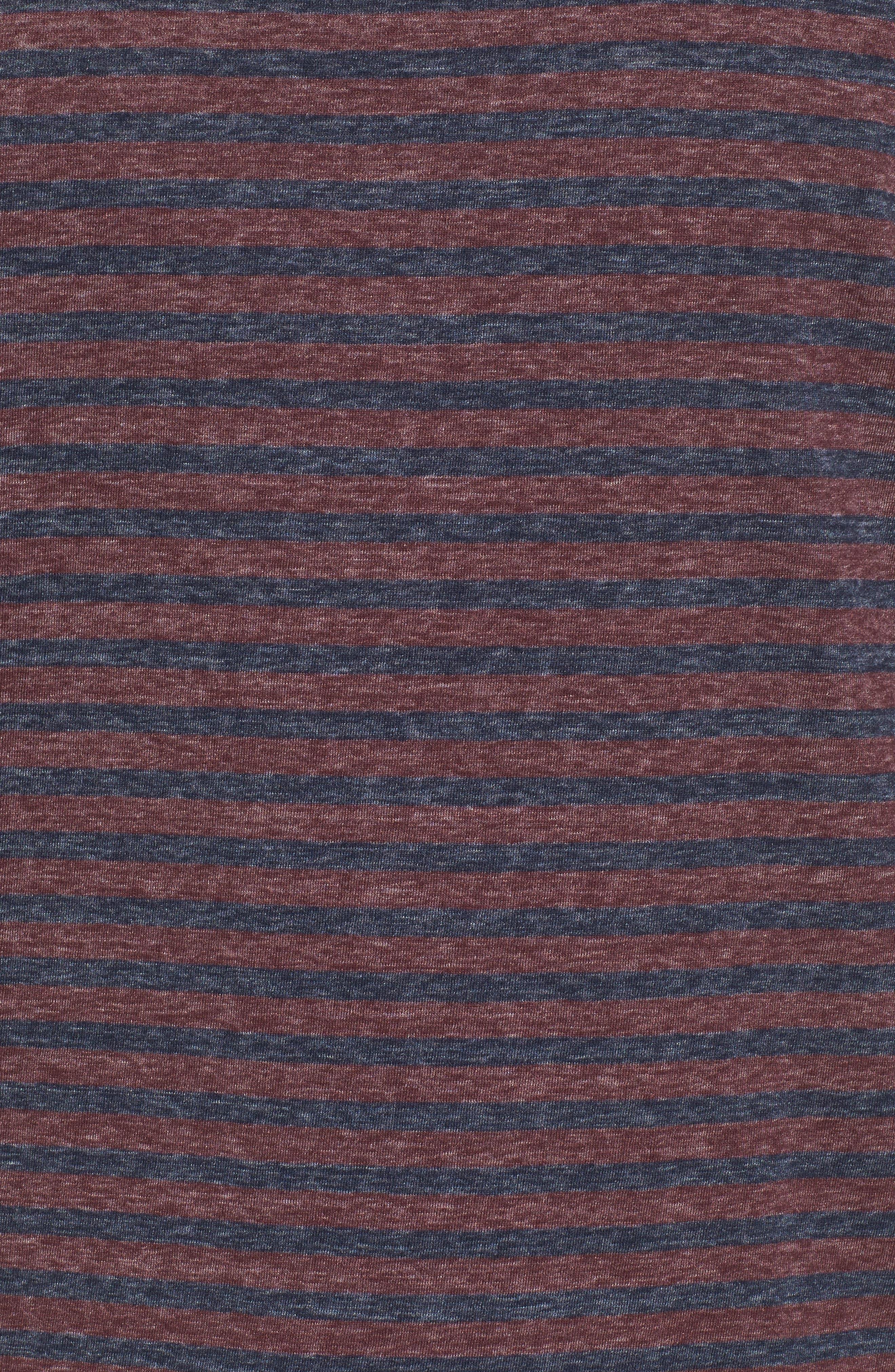 Crewneck Recycled Cotton Blend T-Shirt,                             Alternate thumbnail 5, color,                             482