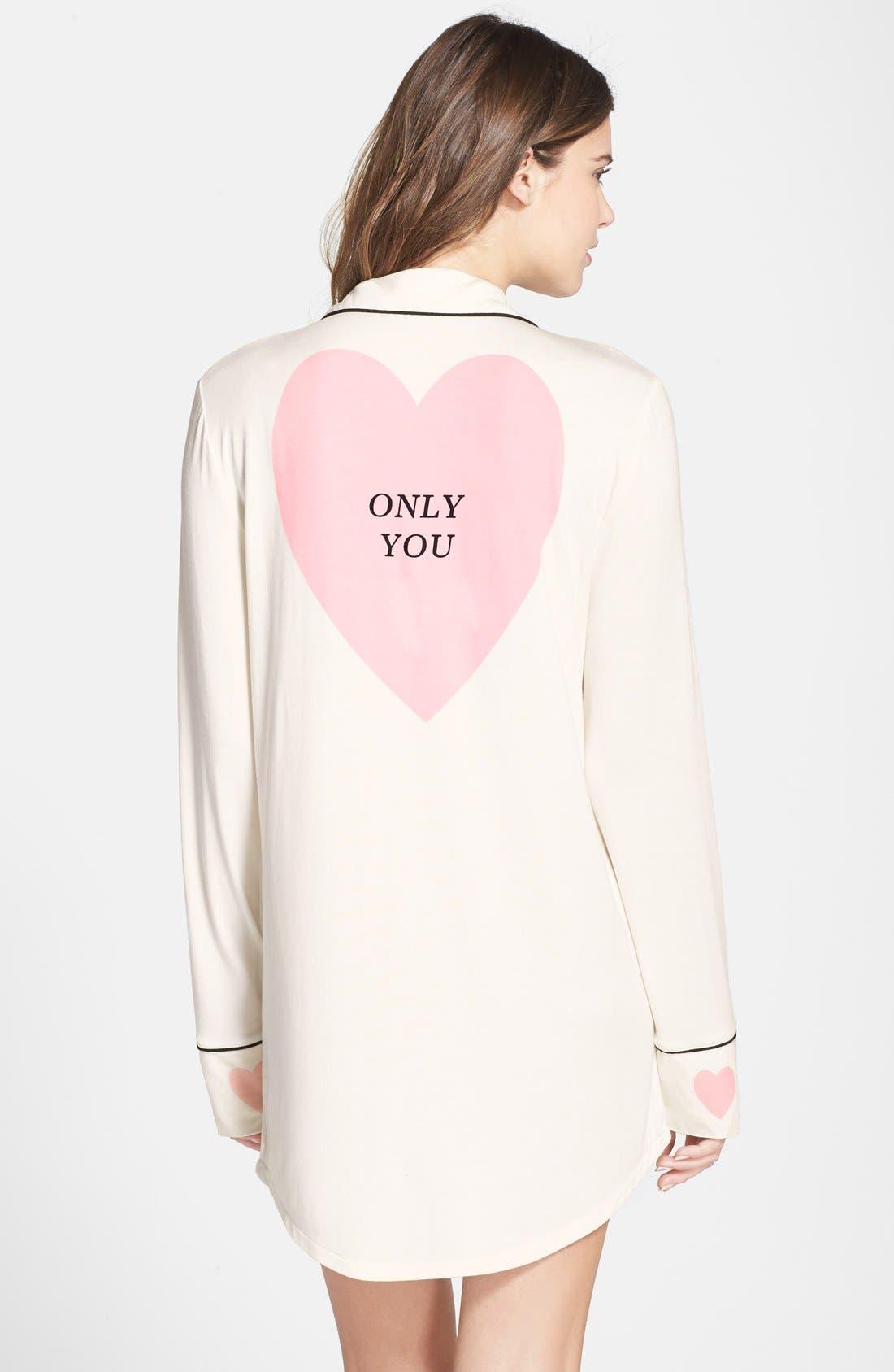 'Sweet Dreams' Sleep Shirt, Main, color, 100