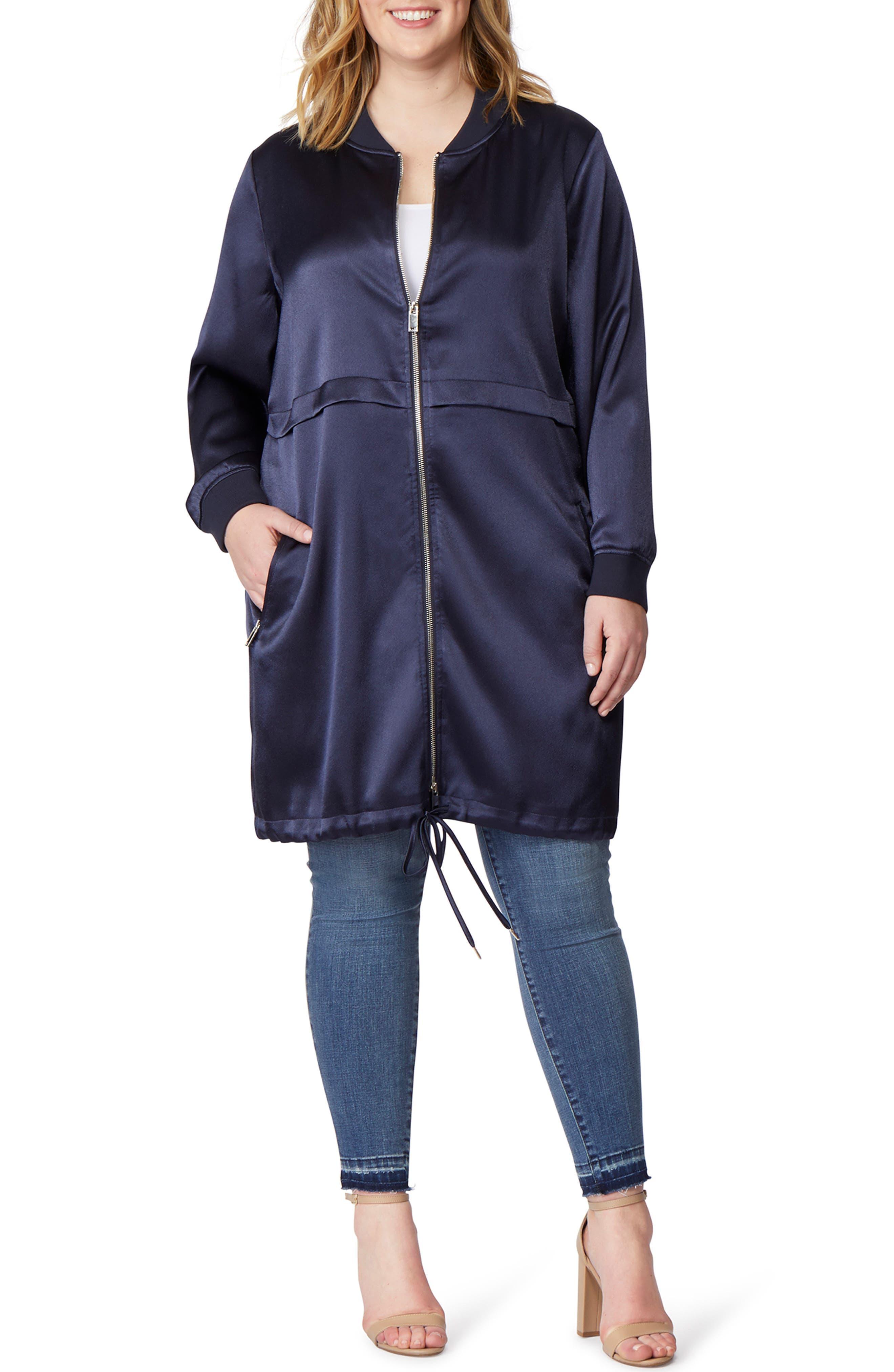 Longline Anorak Jacket,                         Main,                         color, 435