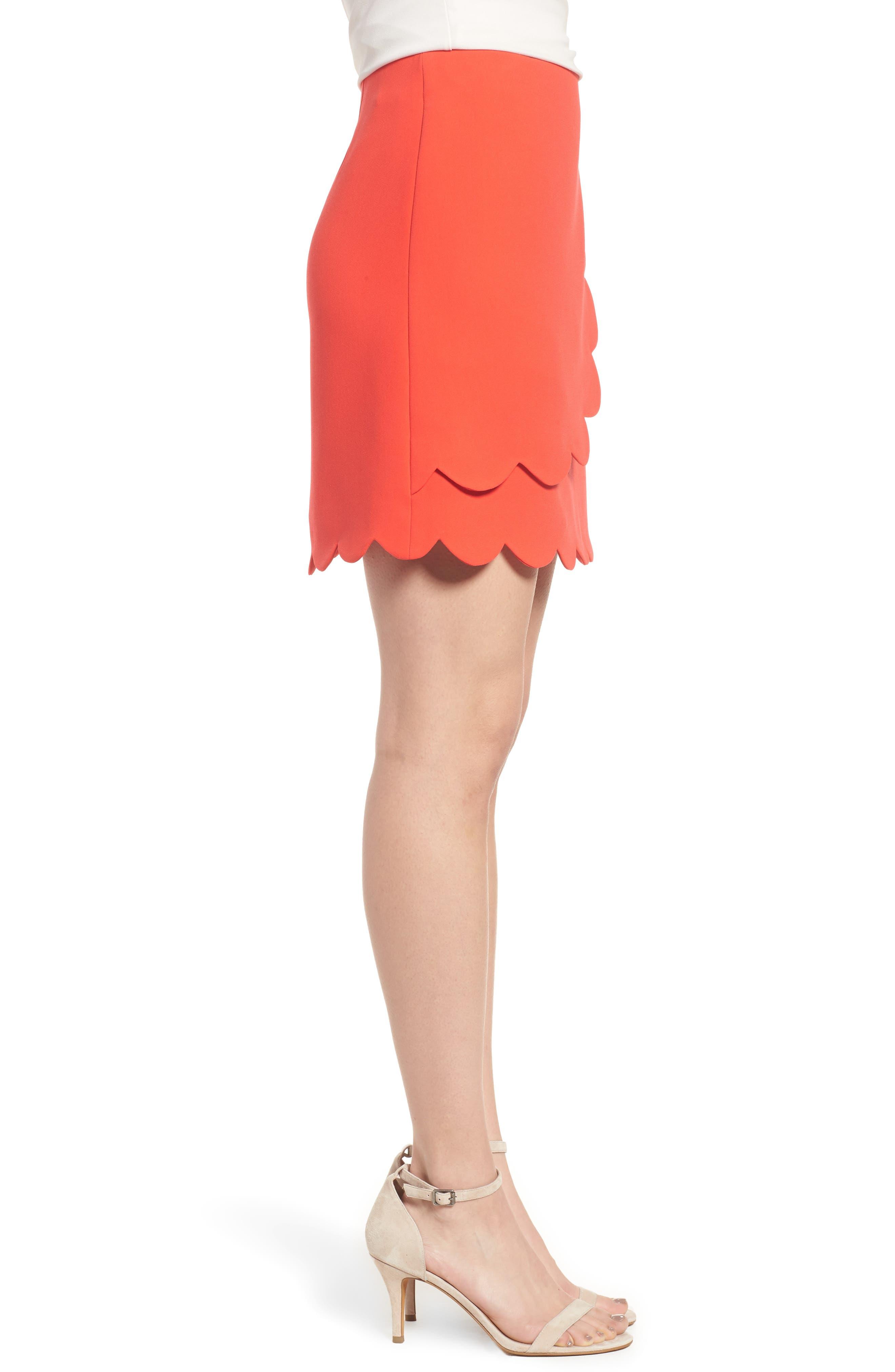 Scallop Skirt,                             Alternate thumbnail 6, color,