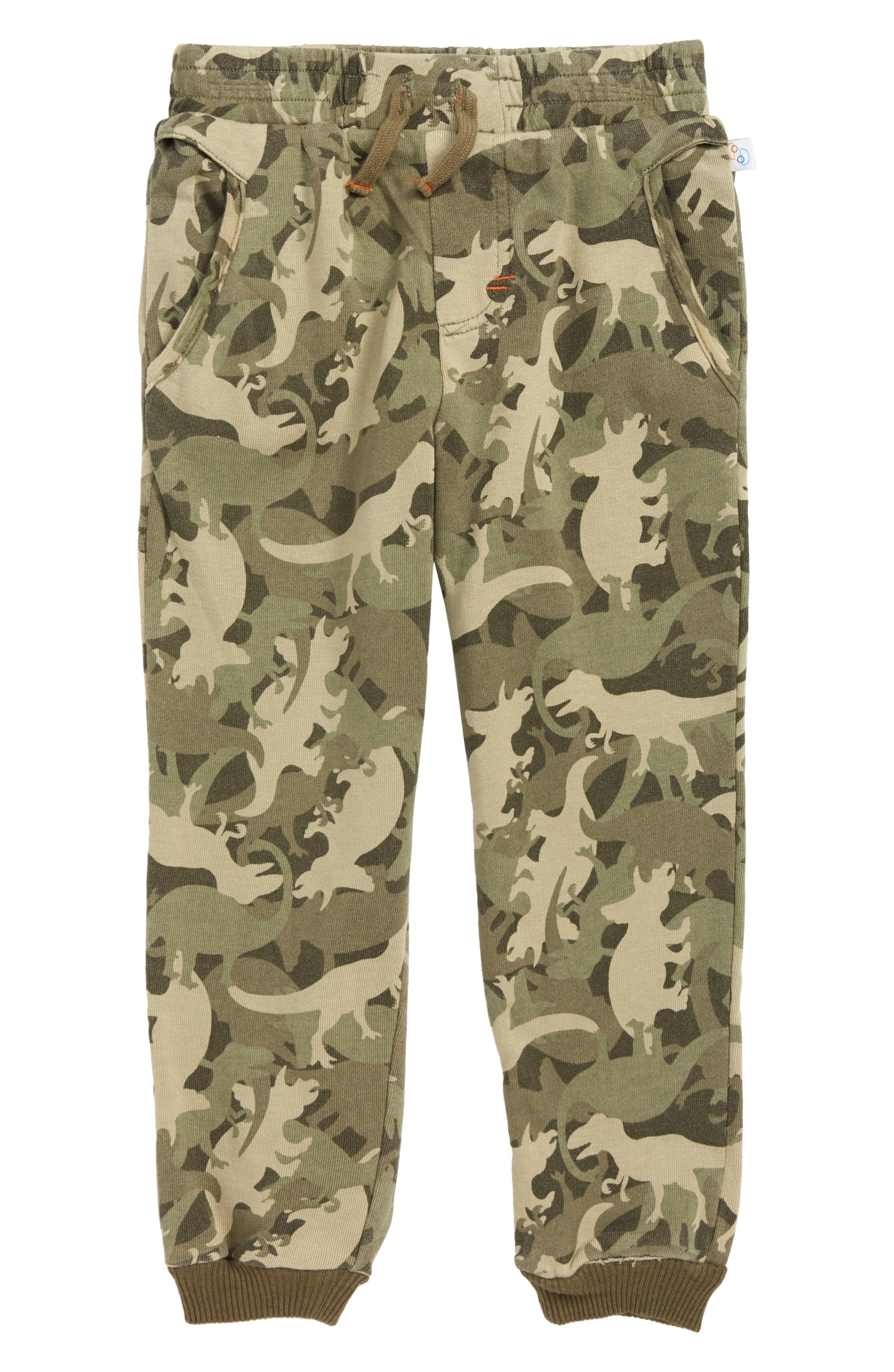 Dino Camo Jogger Pants,                             Main thumbnail 1, color,                             351