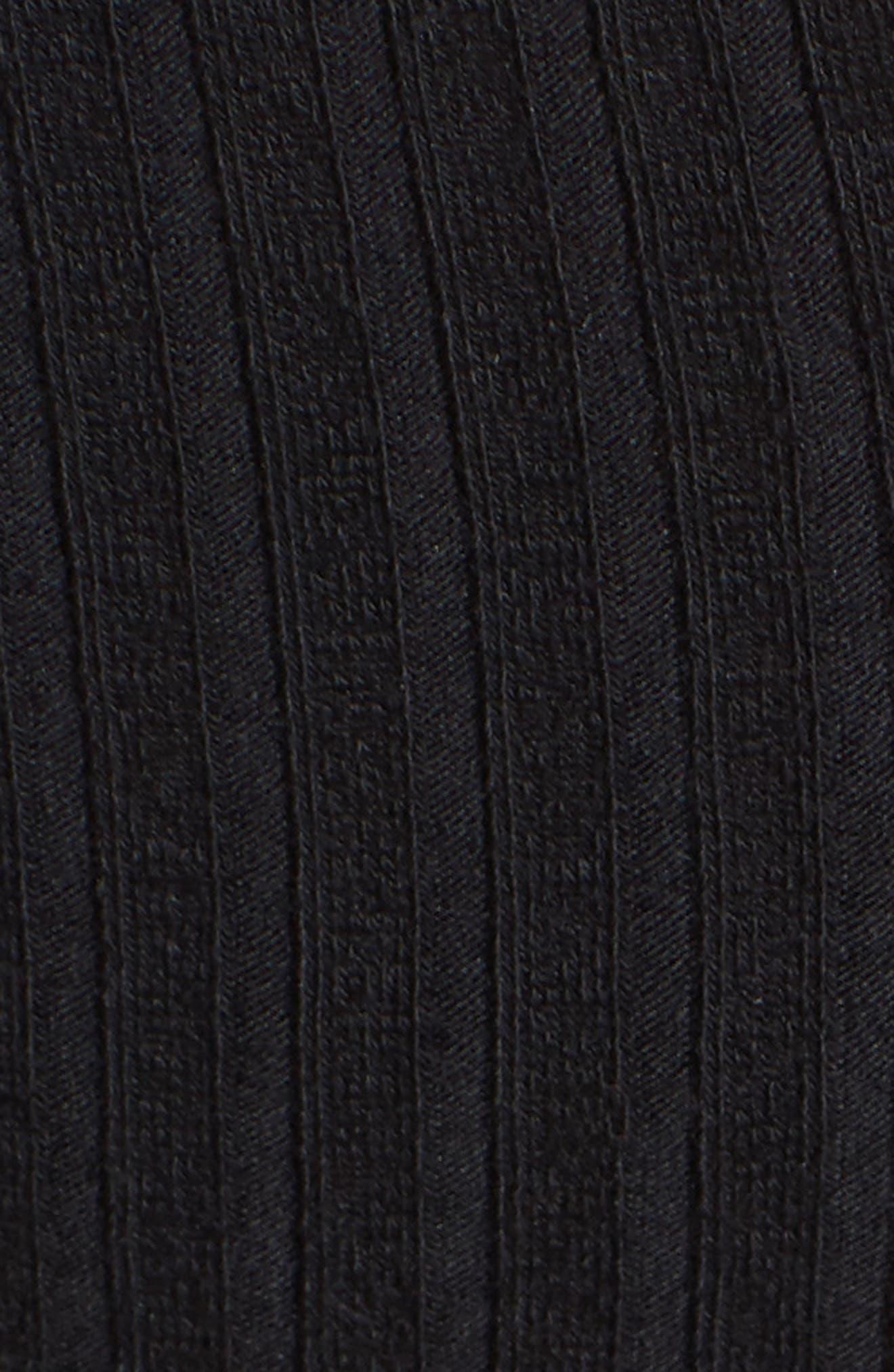Elbow Cutout Dress,                             Alternate thumbnail 5, color,                             001