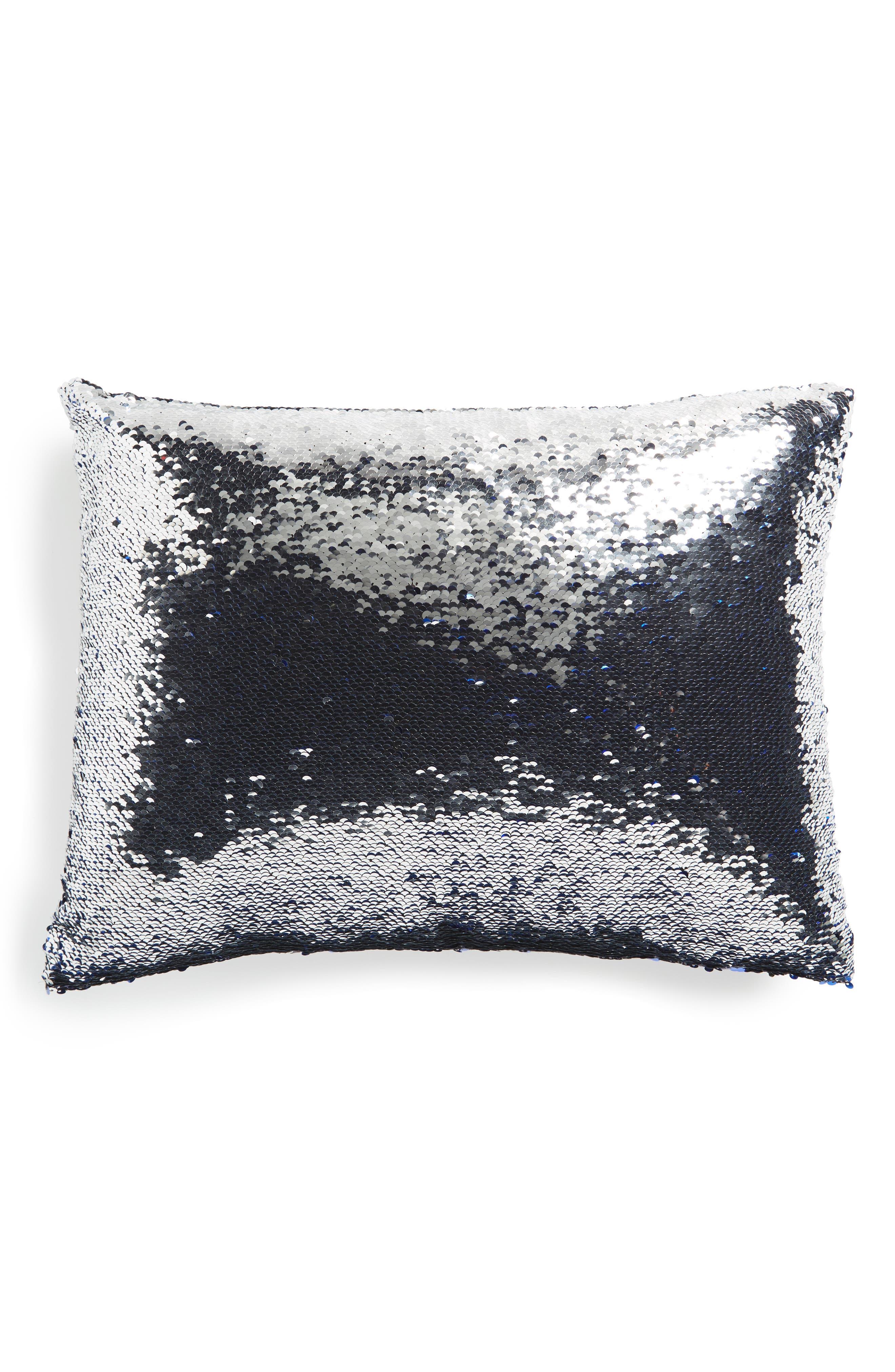 Sequin Pillow,                             Alternate thumbnail 4, color,                             400