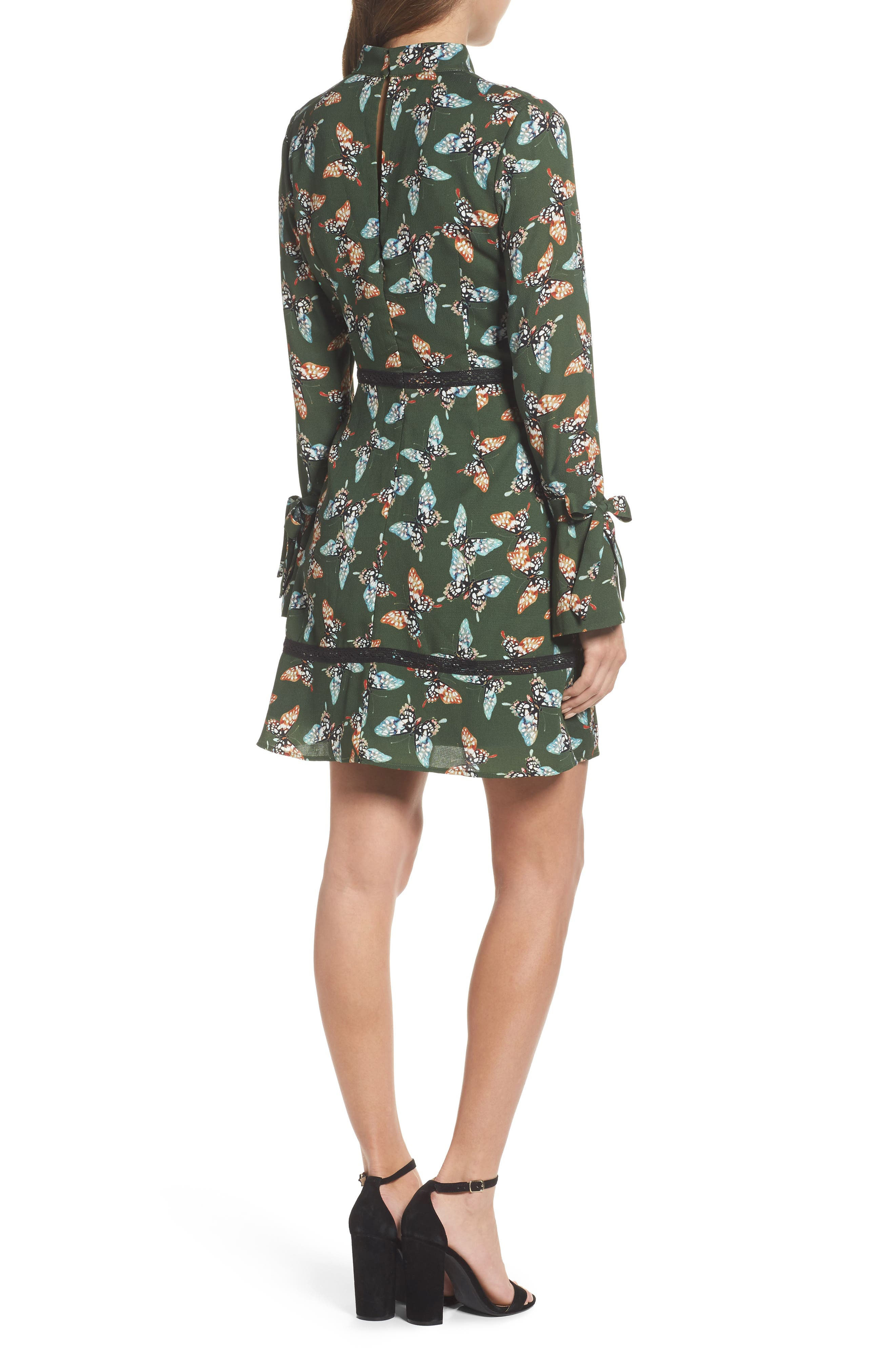 Odessa Fit & Flare Dress,                             Alternate thumbnail 2, color,                             310