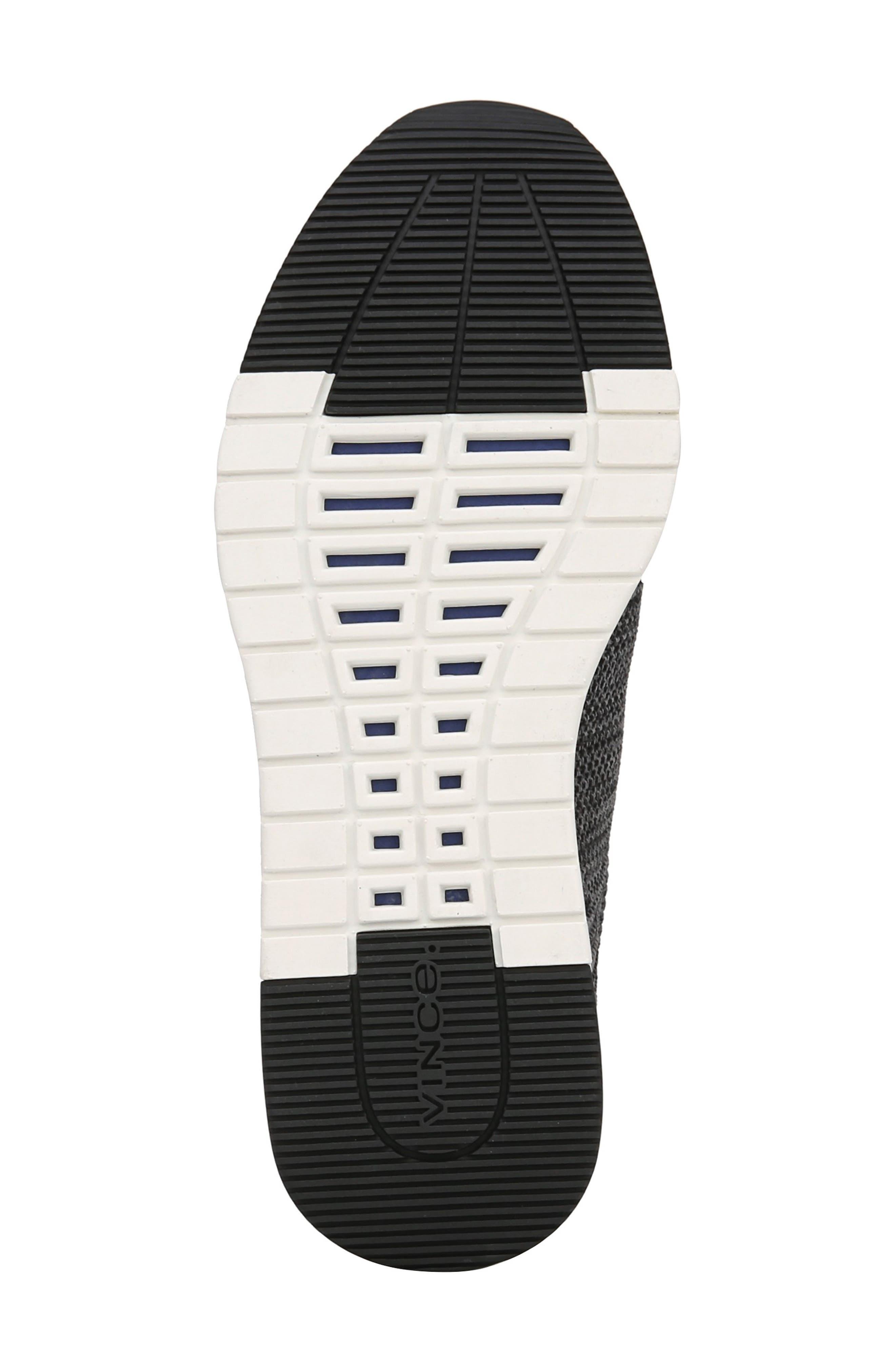 Palo Knit Sneaker,                             Alternate thumbnail 6, color,                             MARL GREY/ BLACK
