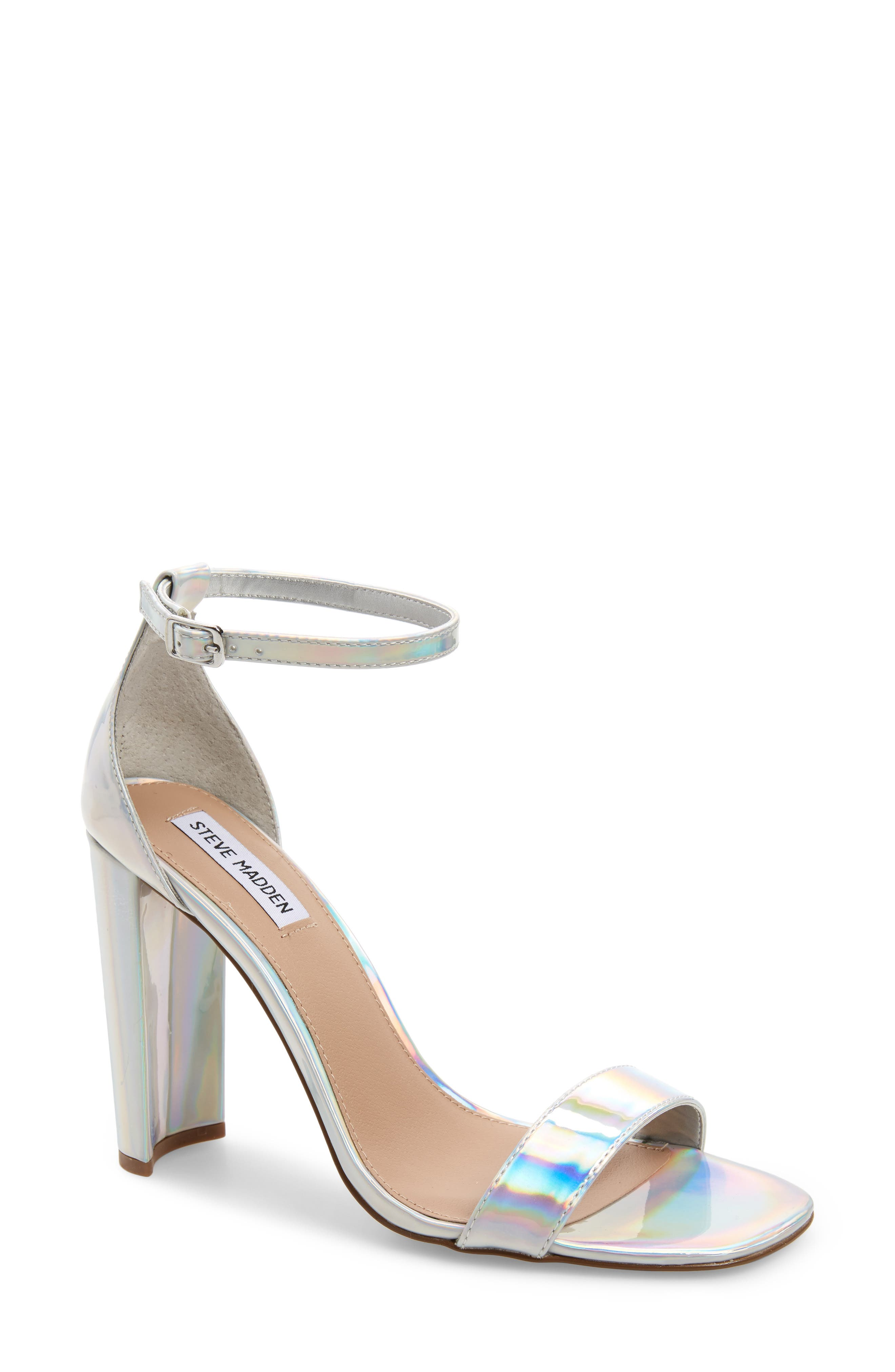 Franky Sandal,                         Main,                         color, IRIDESCENT FAUX LEATHER