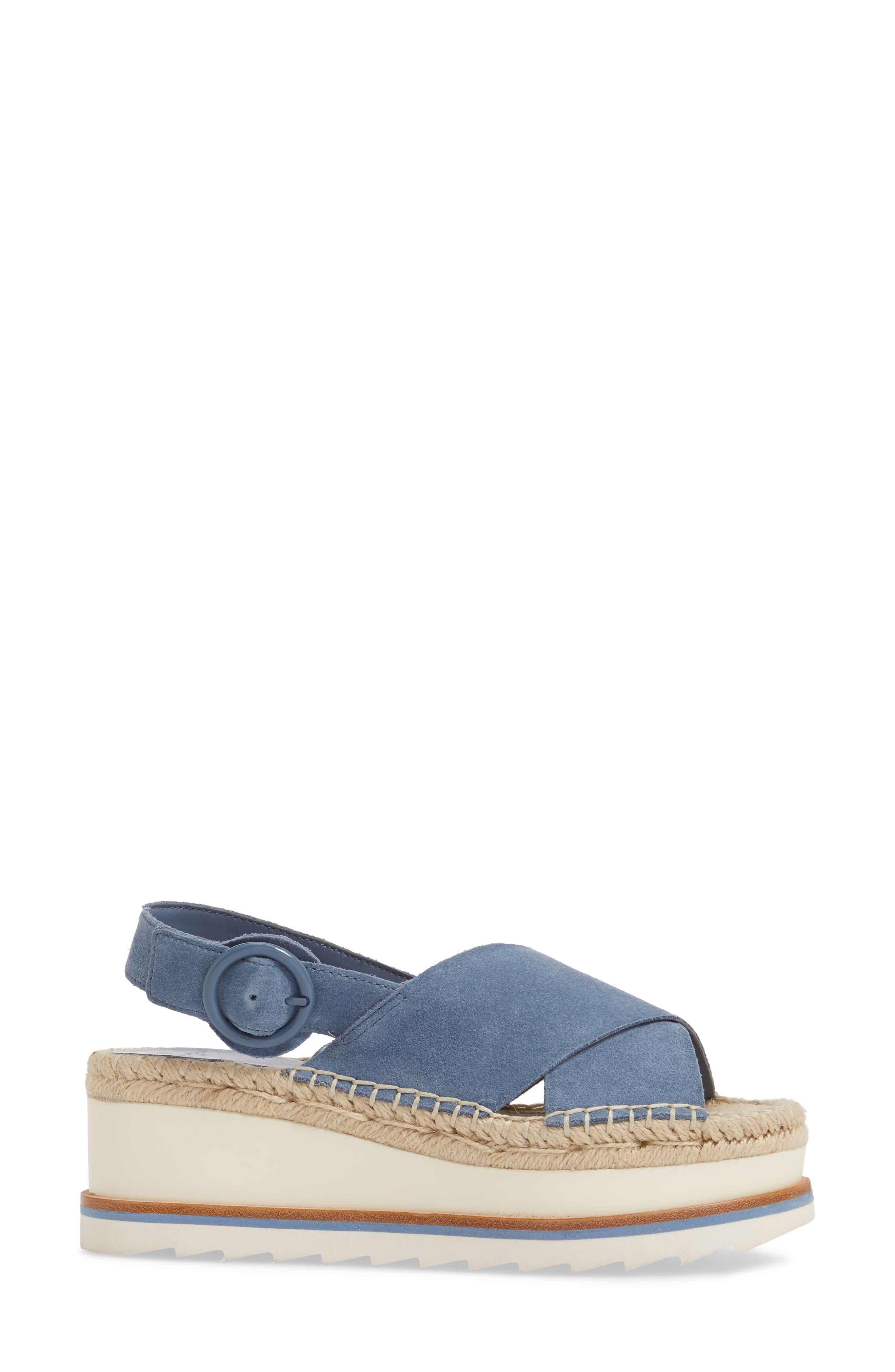 Glenna Platform Slingback Sandal,                             Alternate thumbnail 11, color,