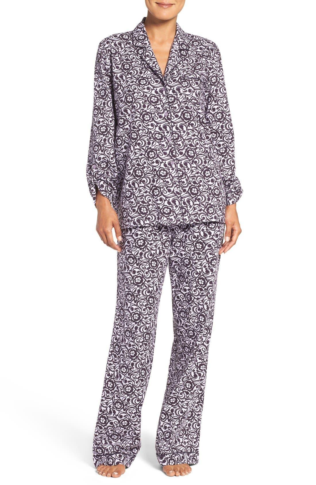 Cotton Twill Pajamas,                             Main thumbnail 9, color,