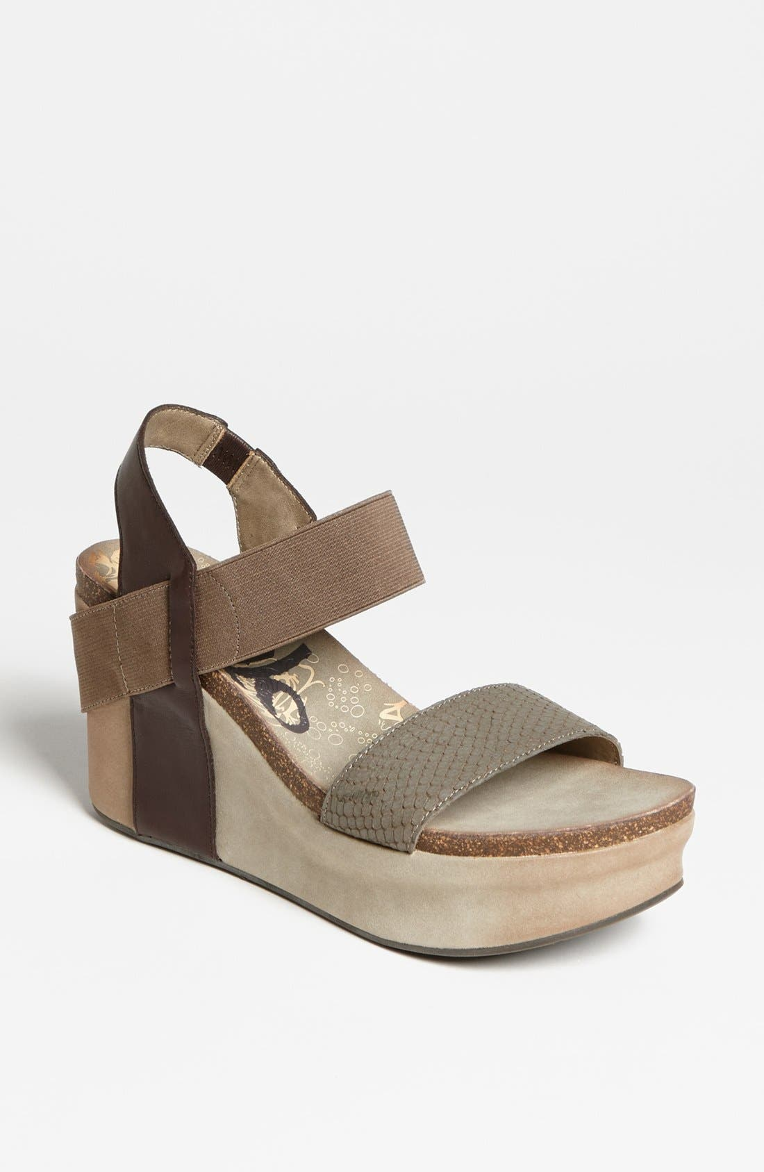 'Bushnell' Wedge Sandal,                             Main thumbnail 10, color,