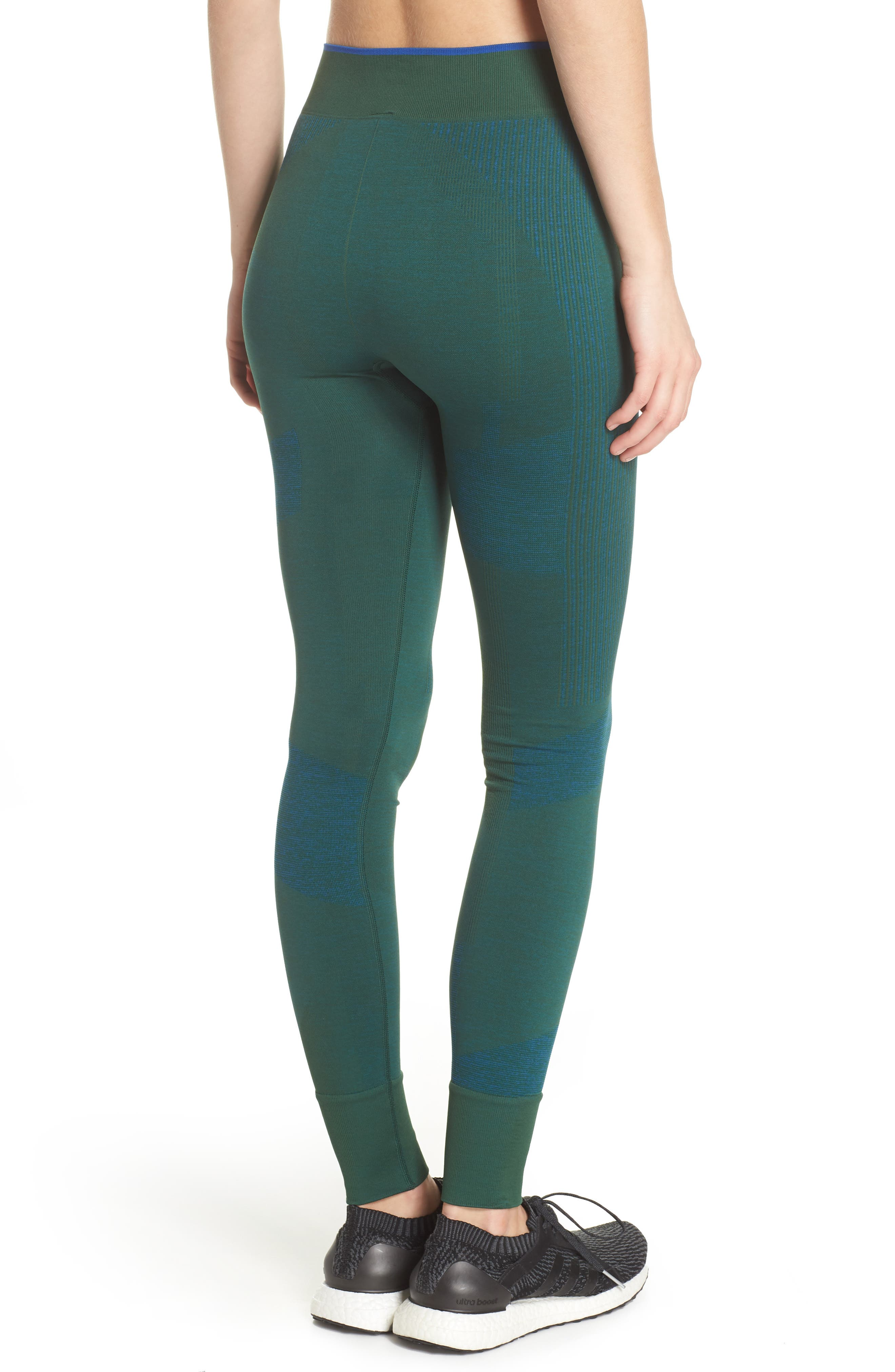 Training Seamless Block Tights,                             Alternate thumbnail 2, color,