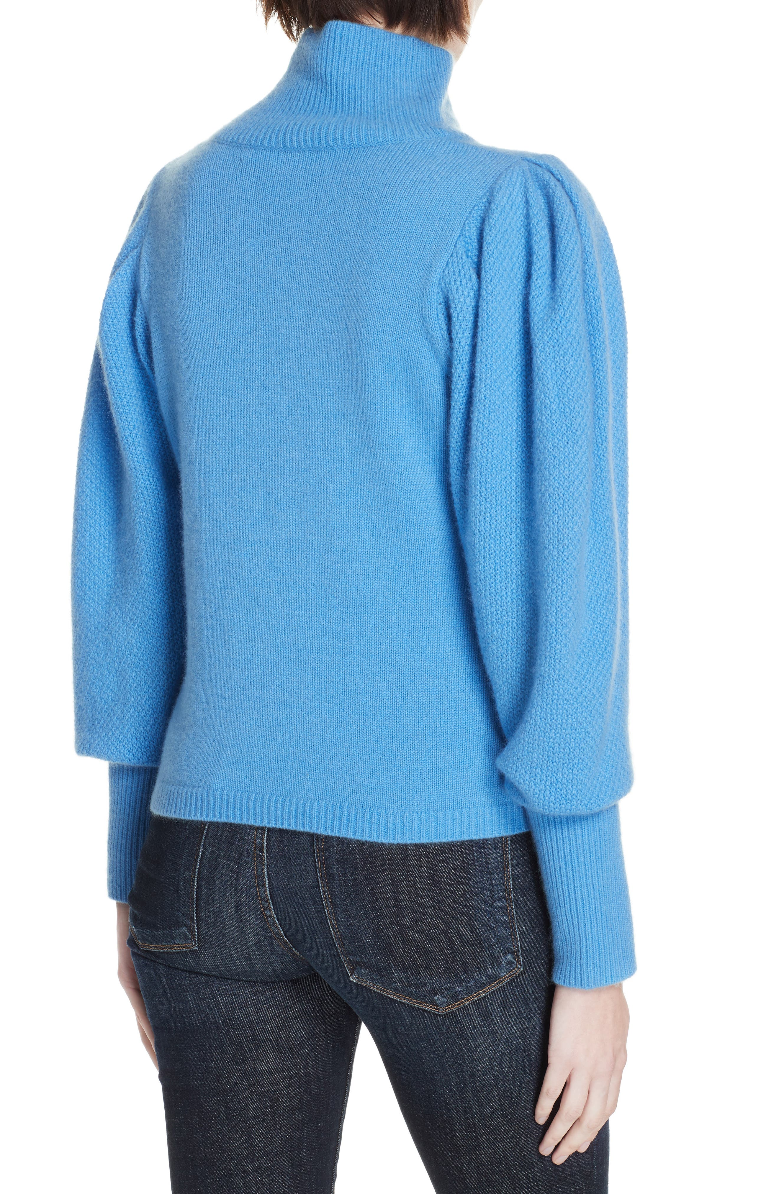 Beatrice Wool & Cashmere Sweater,                             Alternate thumbnail 2, color,                             HYDRANGEA