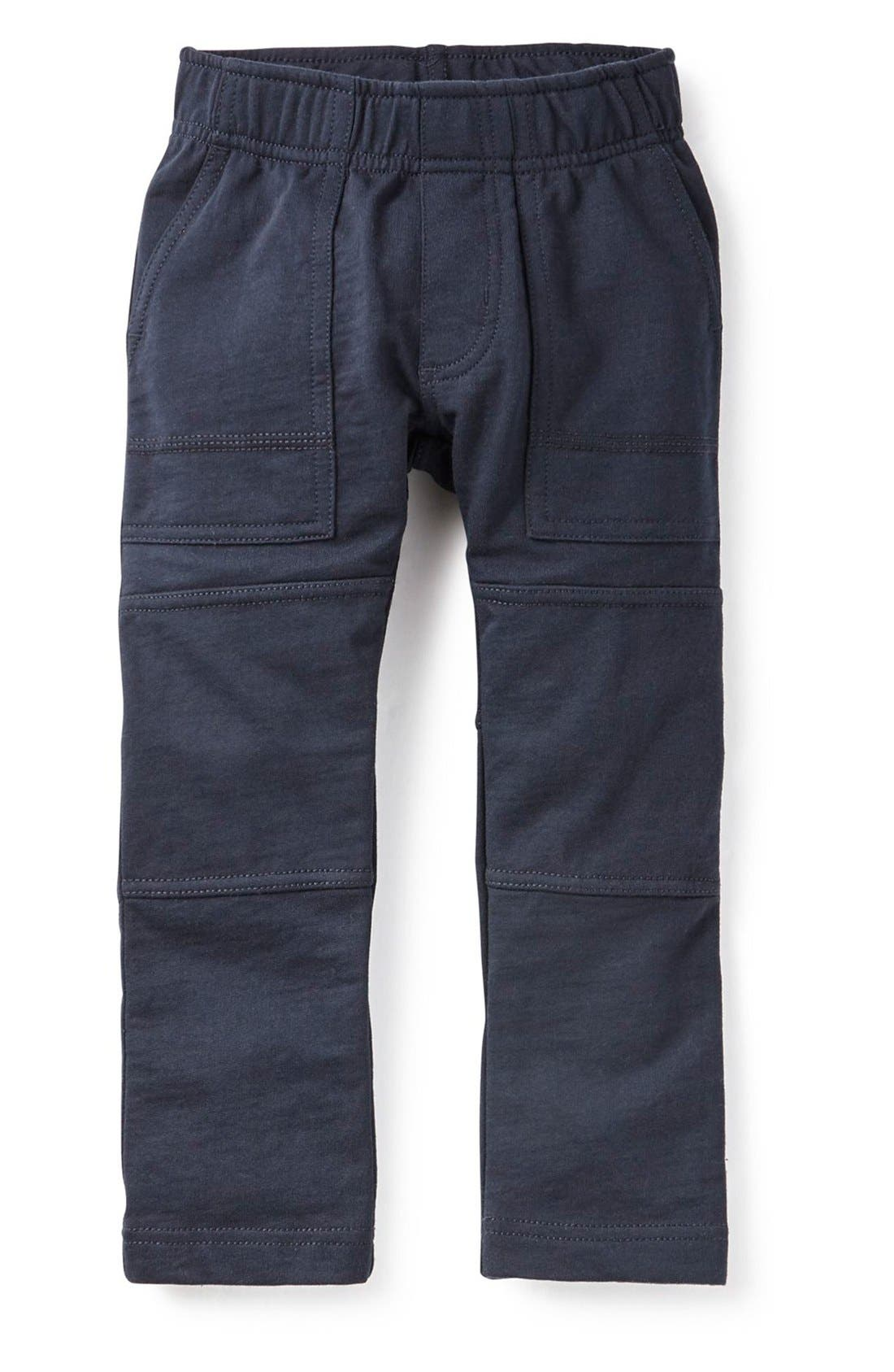 Toddler Boys Tea Collection French Terry Pants Size 3T  Blue