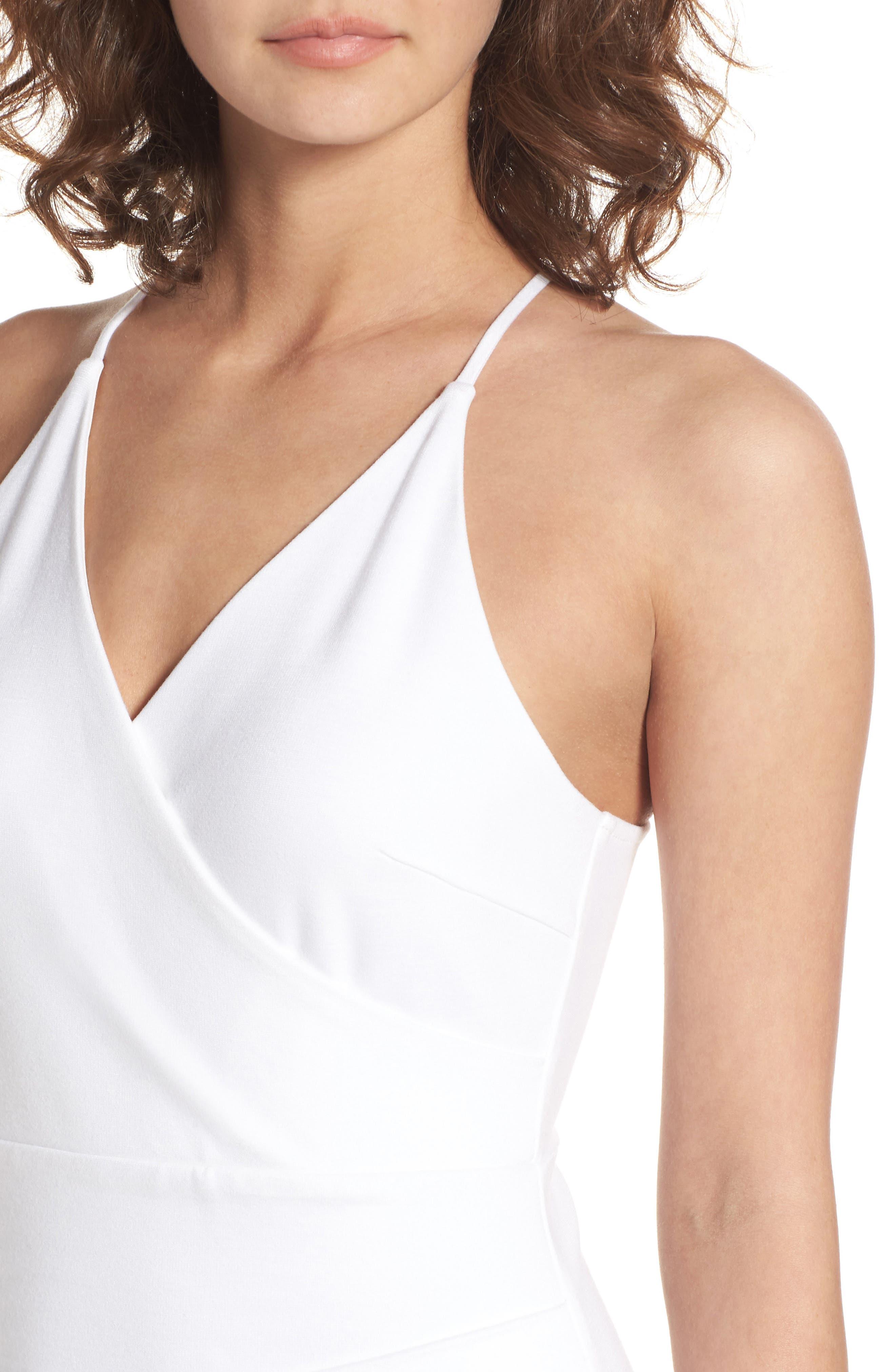 Asymmetrical Body-Con Dress,                             Alternate thumbnail 8, color,