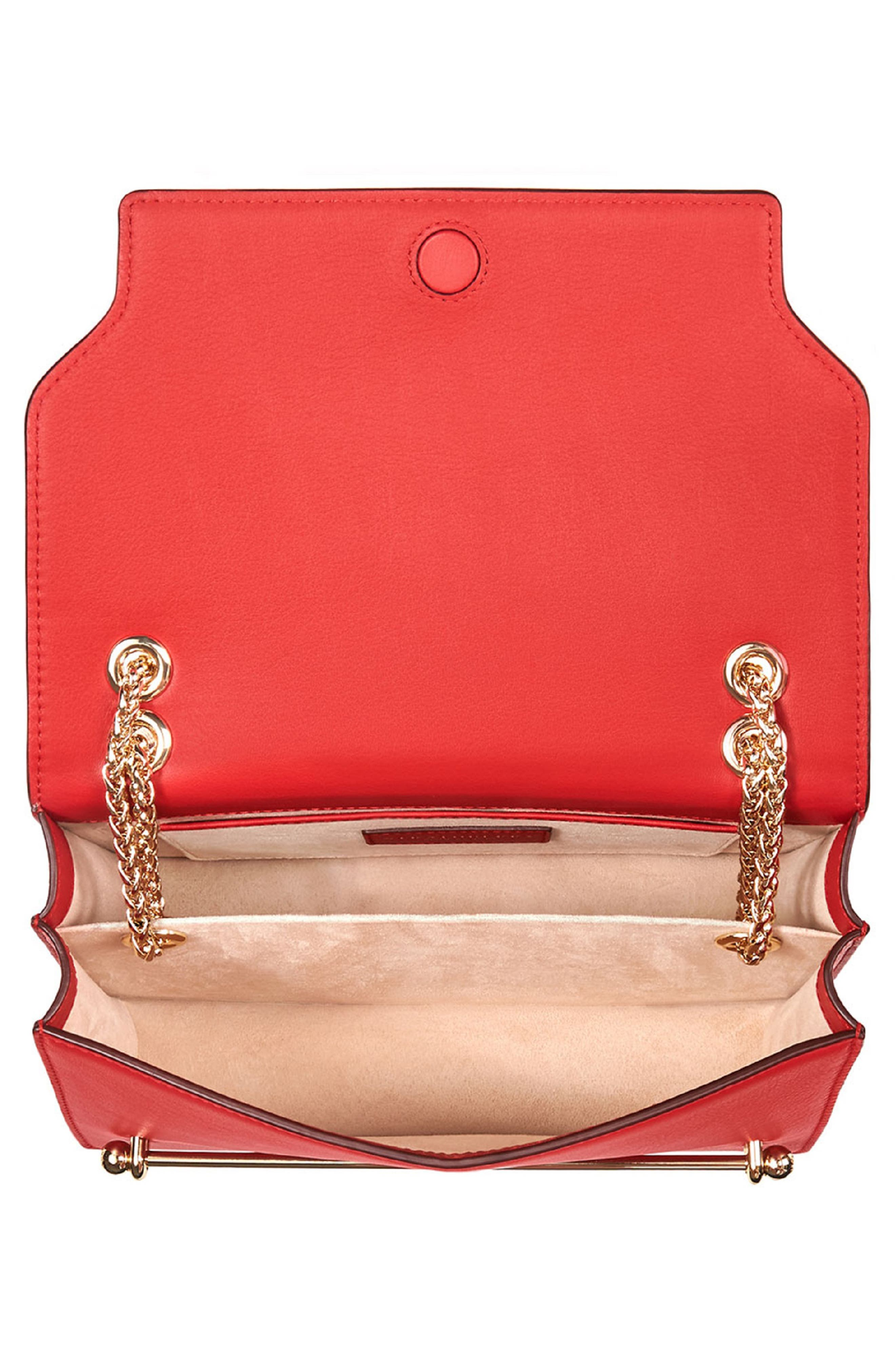 East/West Leather Crossbody Bag,                             Alternate thumbnail 13, color,