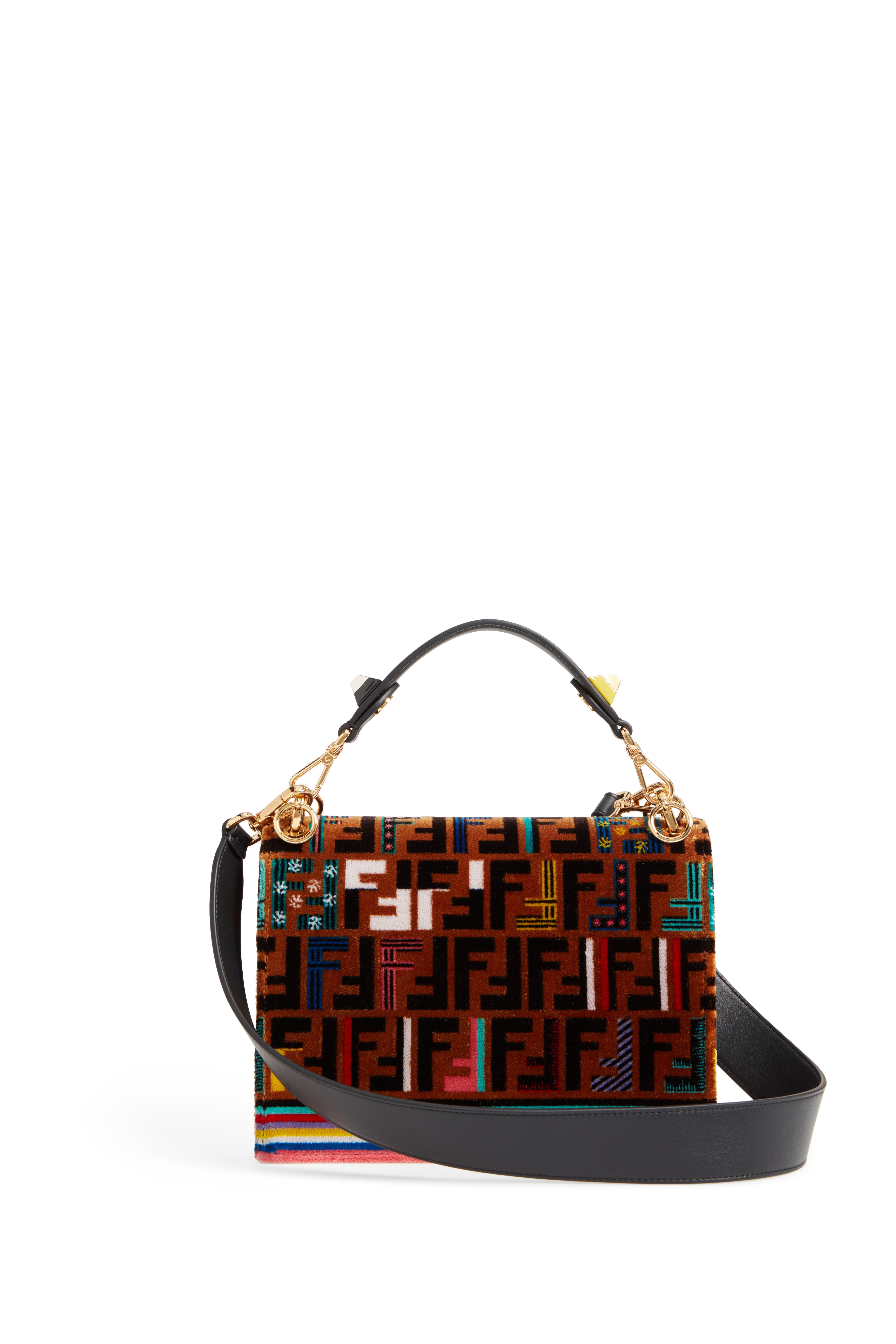 Kan I Tappetino Velvet Shoulder Bag,                             Alternate thumbnail 3, color,                             207