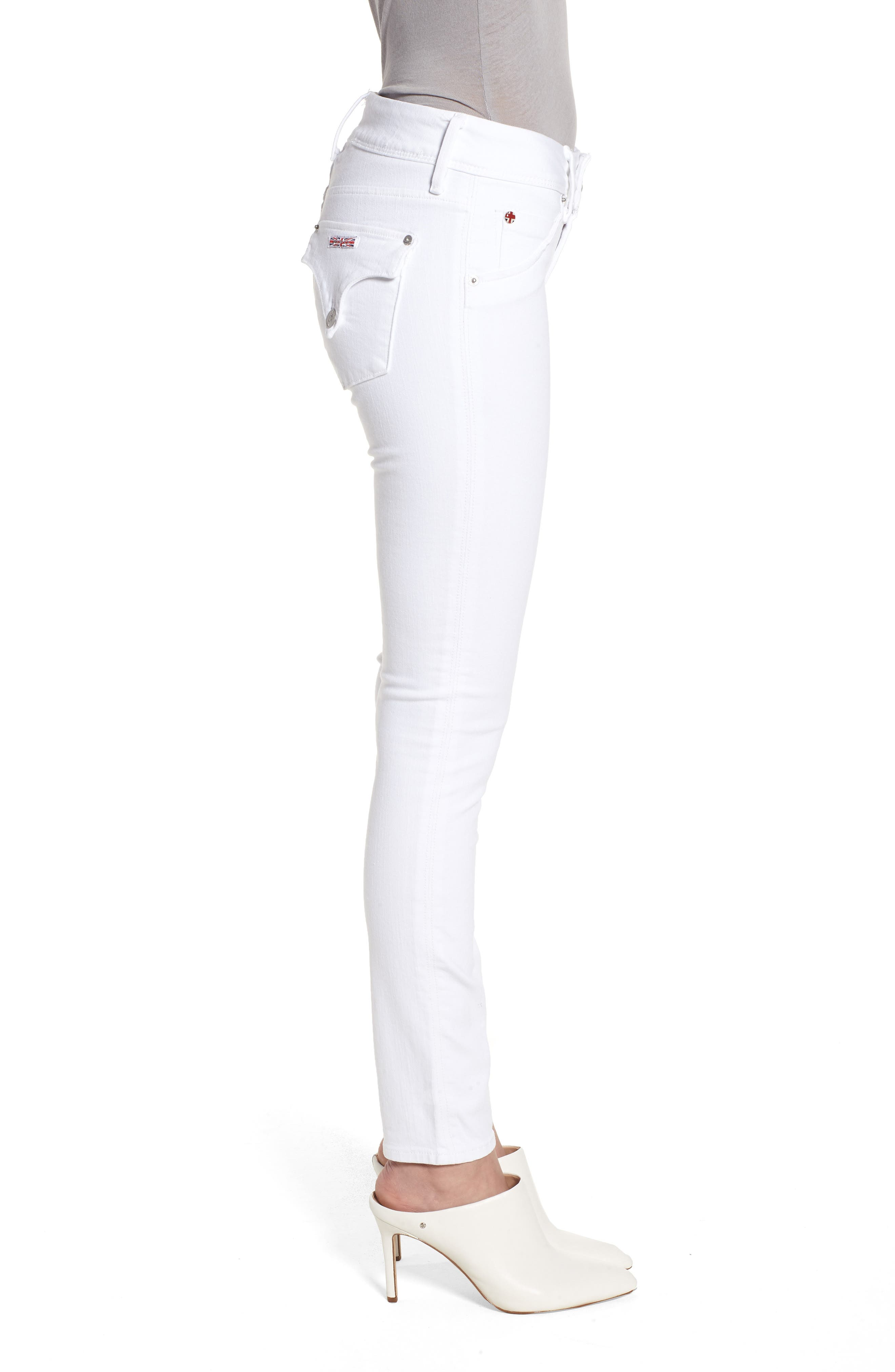 Collin Skinny Jeans,                             Alternate thumbnail 3, color,                             OPTICAL WHITE