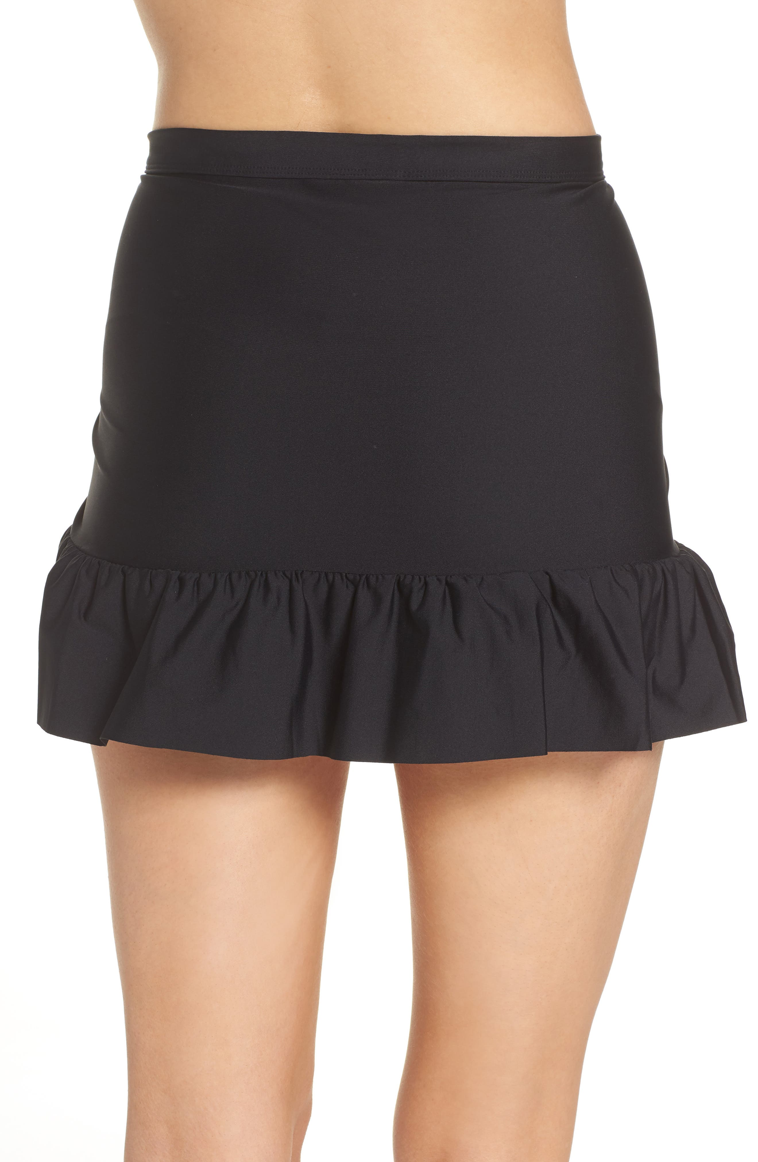 Cover-Up Wrap Skirt,                             Alternate thumbnail 2, color,                             001