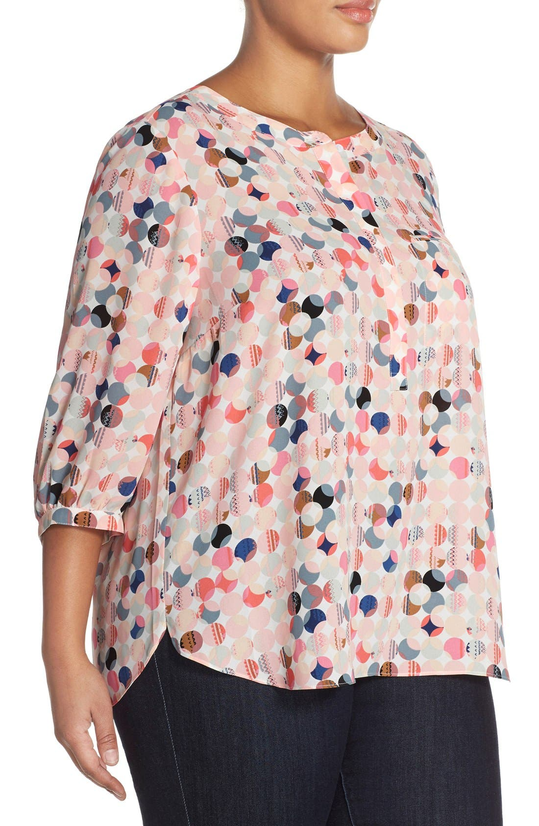Henley Top,                             Alternate thumbnail 259, color,