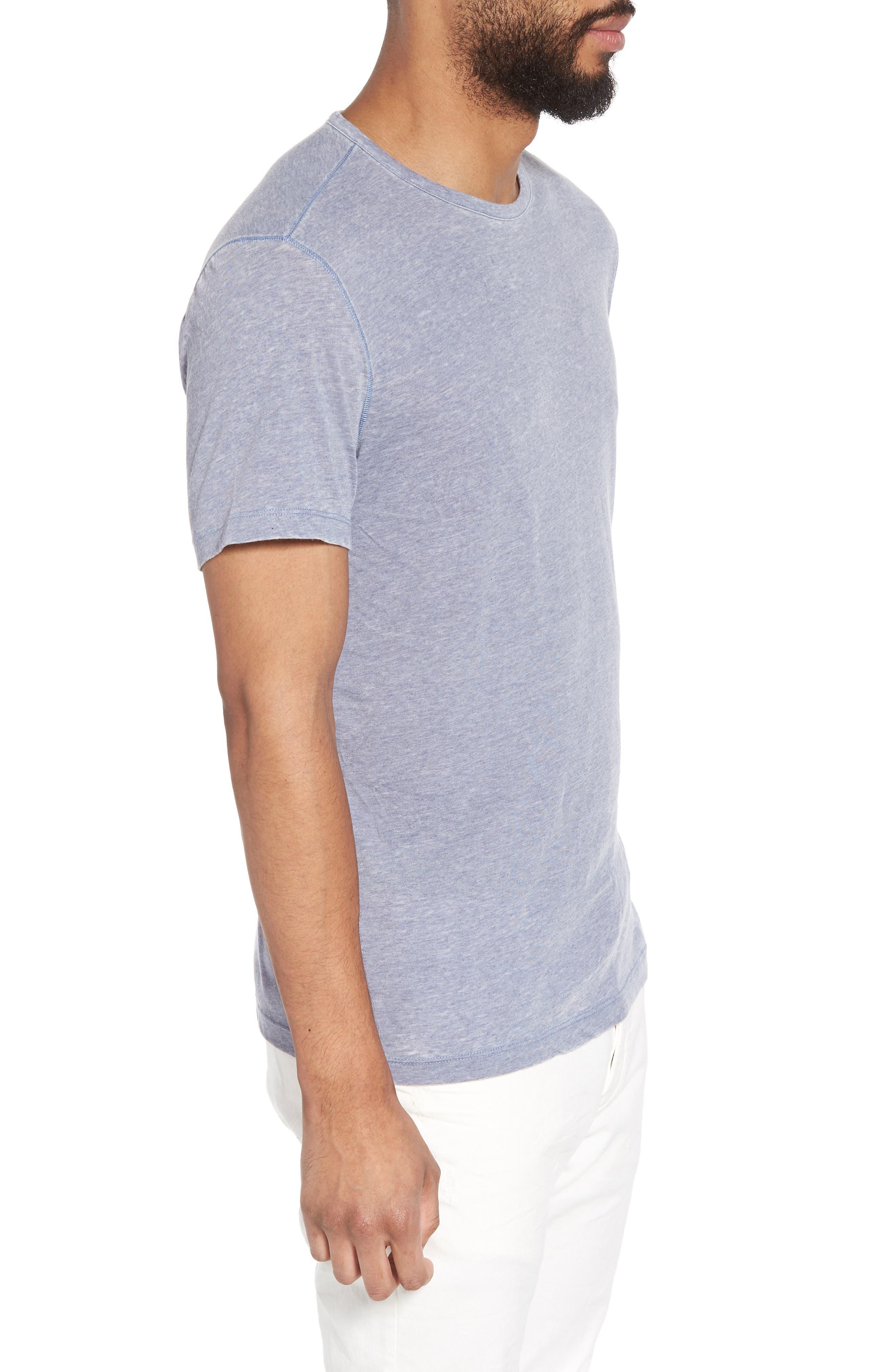 Slim Fit Crewneck T-Shirt,                             Alternate thumbnail 10, color,