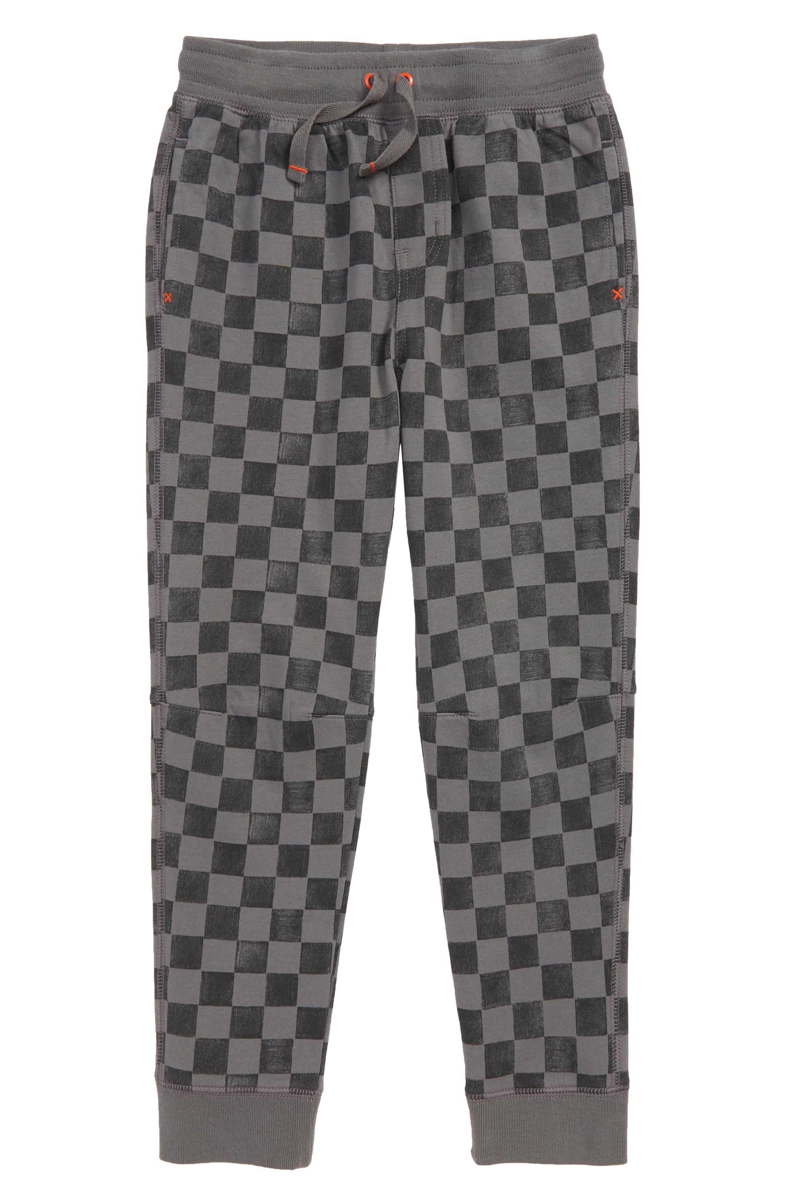 Print Jogger Pants,                         Main,                         color, SOHO SQUARES