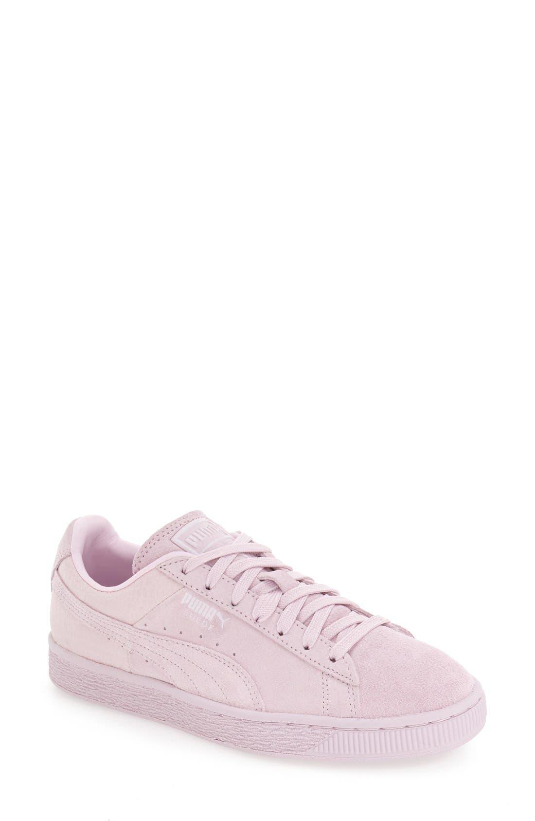 Suede Sneaker,                             Main thumbnail 22, color,