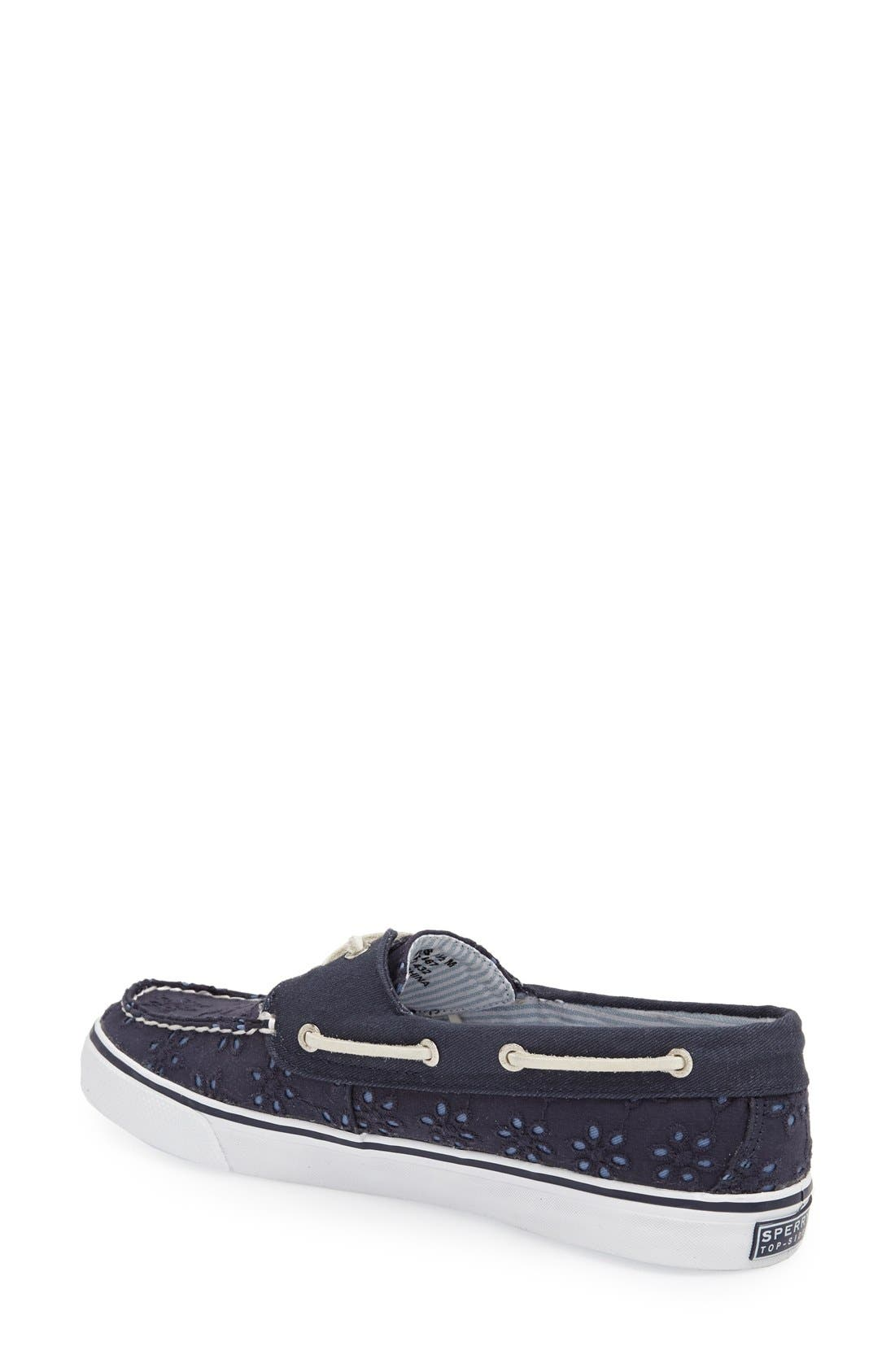 Top-Sider<sup>®</sup> 'Bahama' Sequined Boat Shoe,                             Alternate thumbnail 150, color,