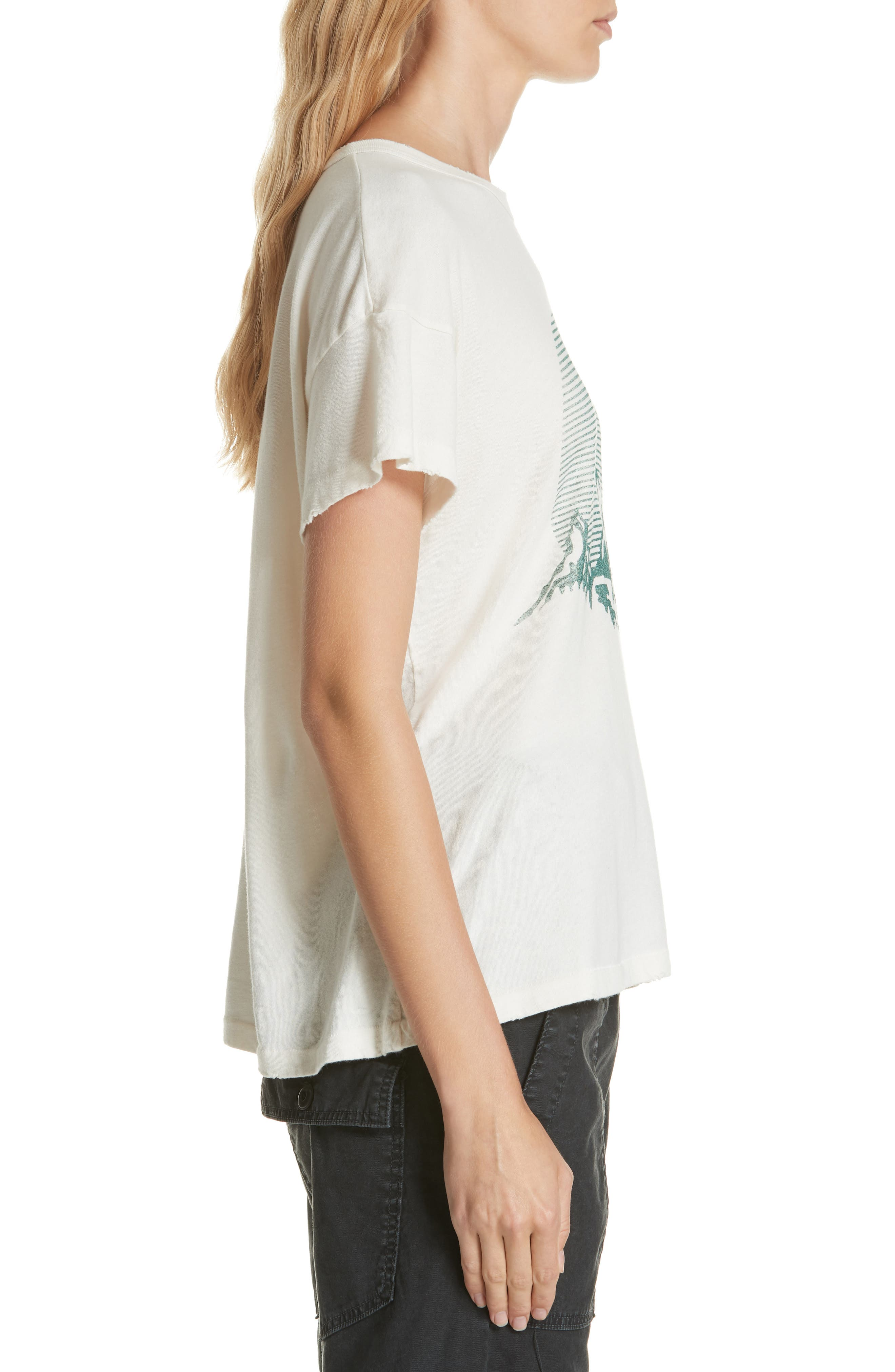 The Boxy Graphic Tee,                             Alternate thumbnail 7, color,